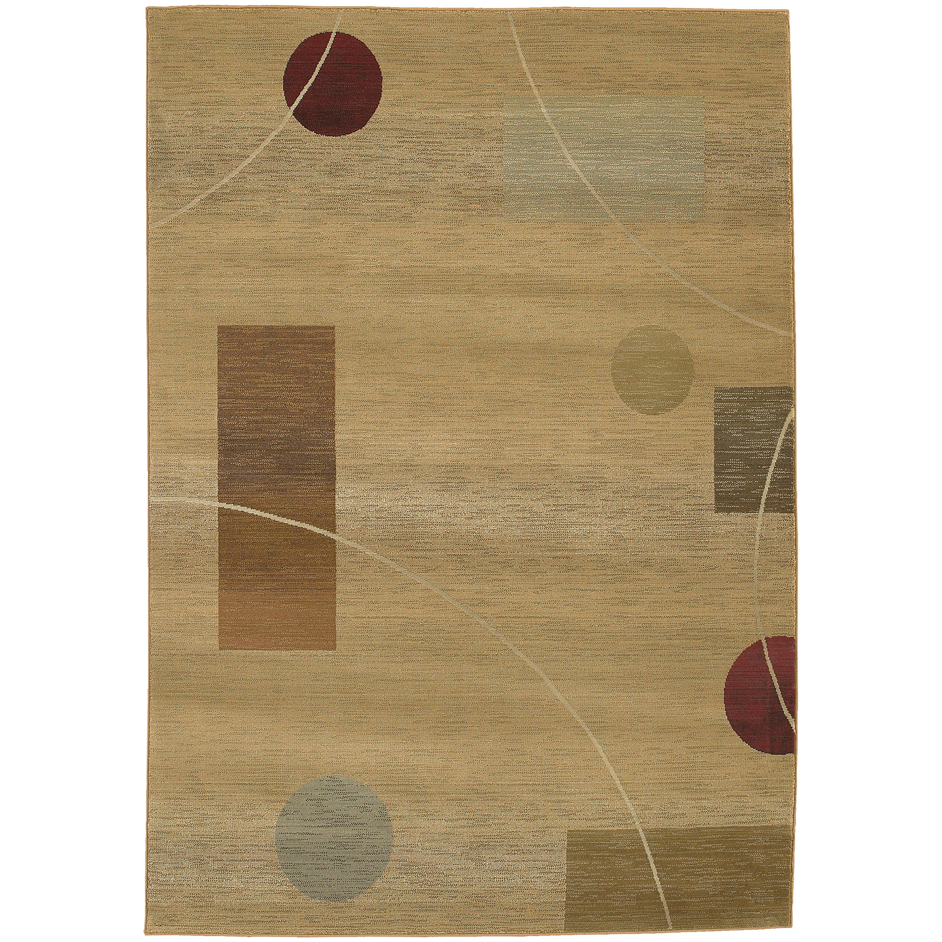 "Oriental Weavers Generations 4' X  5' 9"" Rug - Item Number: G1504G120180ST"