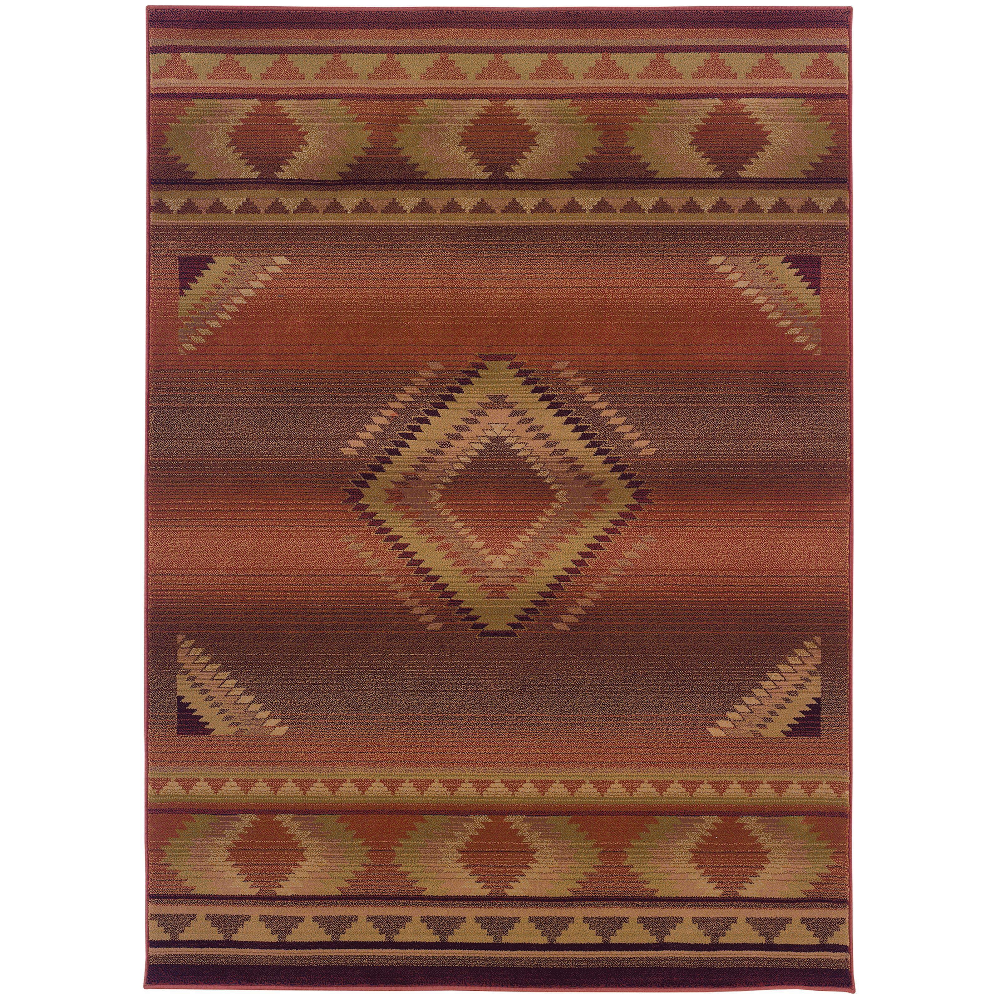 "Oriental Weavers Generations 4' X  5' 9"" Rug - Item Number: G1506C120180CST"