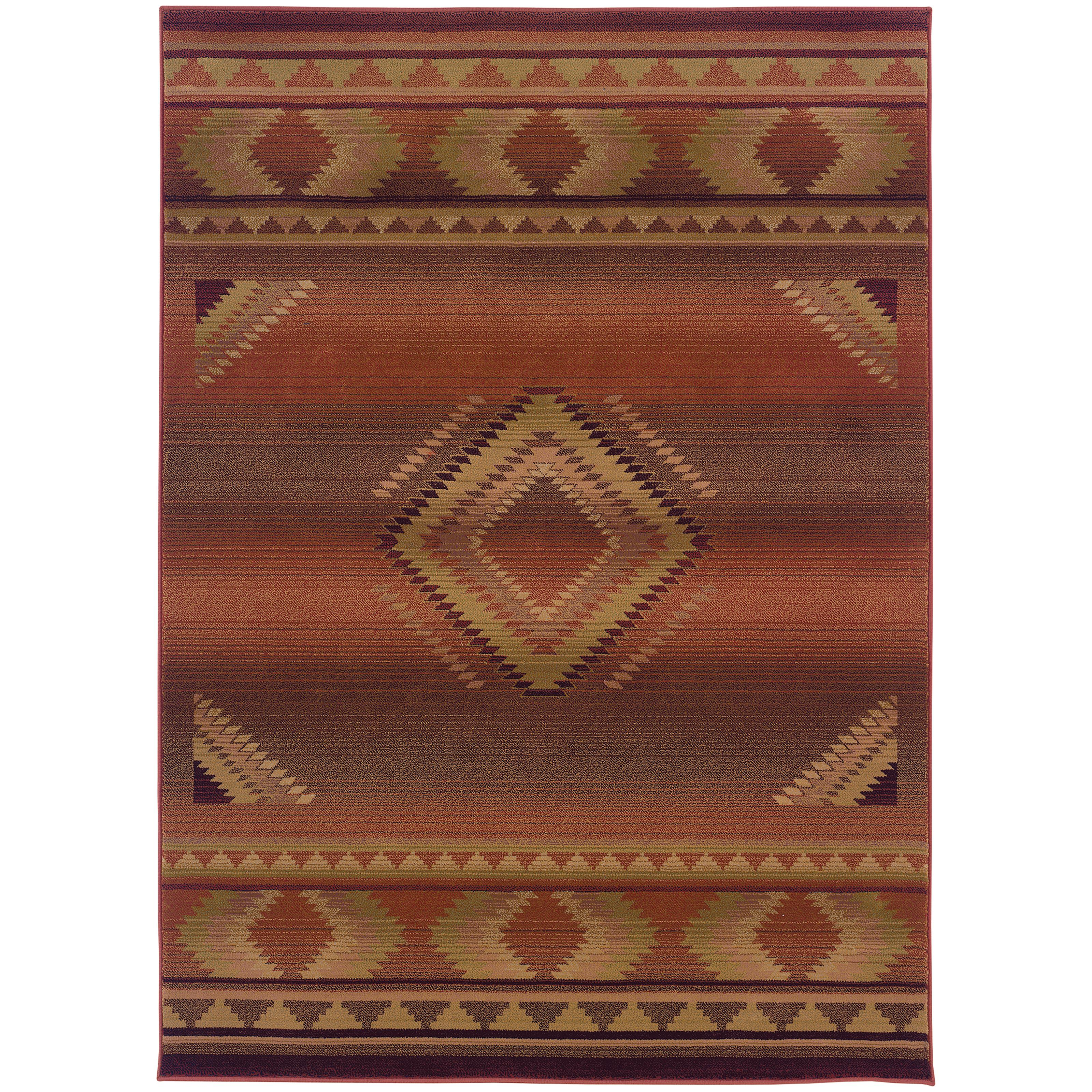 "Oriental Weavers Generations 9' 9"" X 12' 2"" Rug - Item Number: G1506C300380ST"