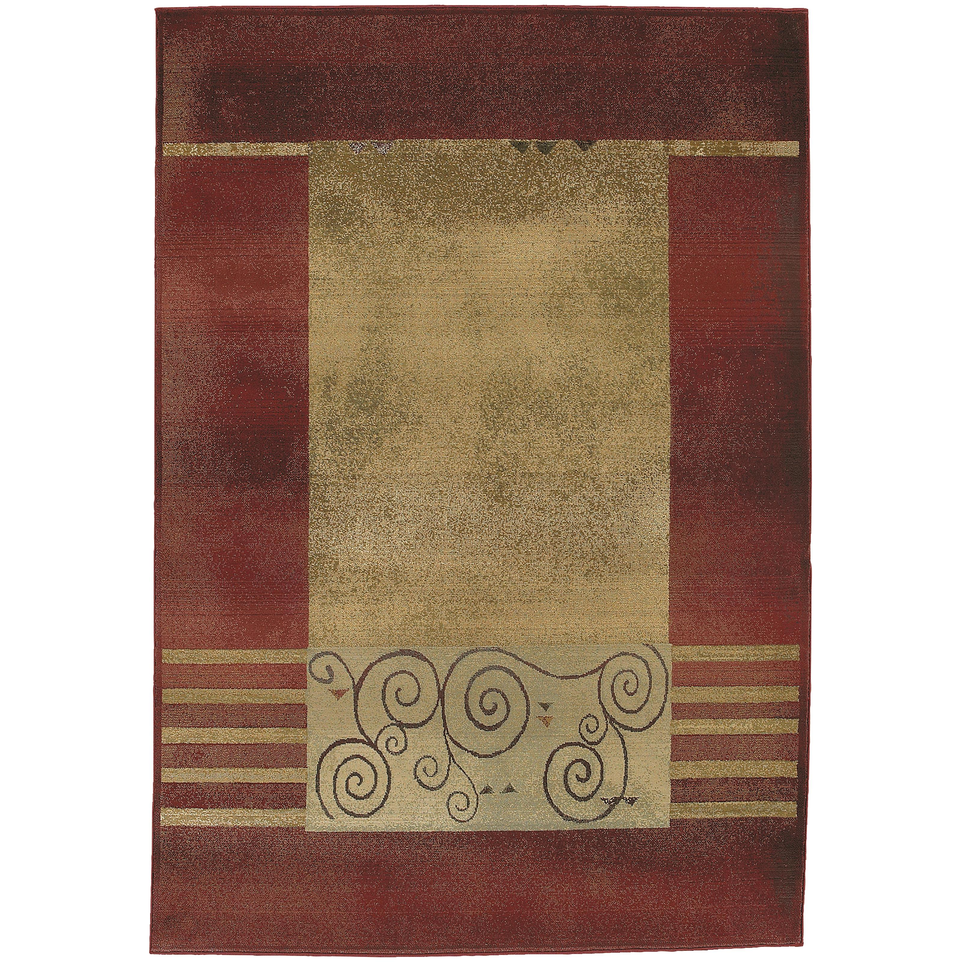 "Oriental Weavers Generations 2' 7"" X  9' 1"" Rug - Item Number: G213R1080285ST"