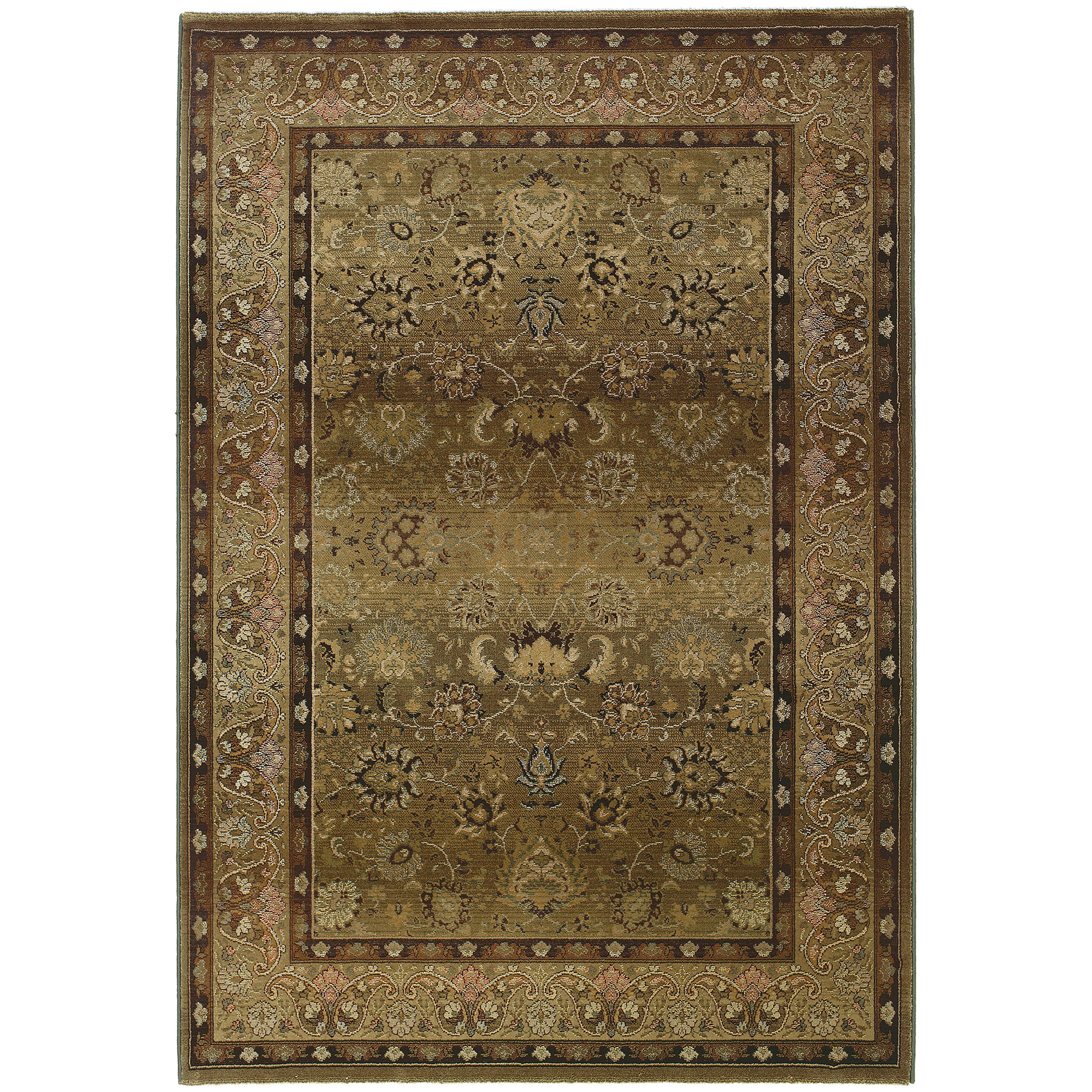 "Oriental Weavers Generations 4' X  5' 9"" Rug - Item Number: G3434J120180ST"