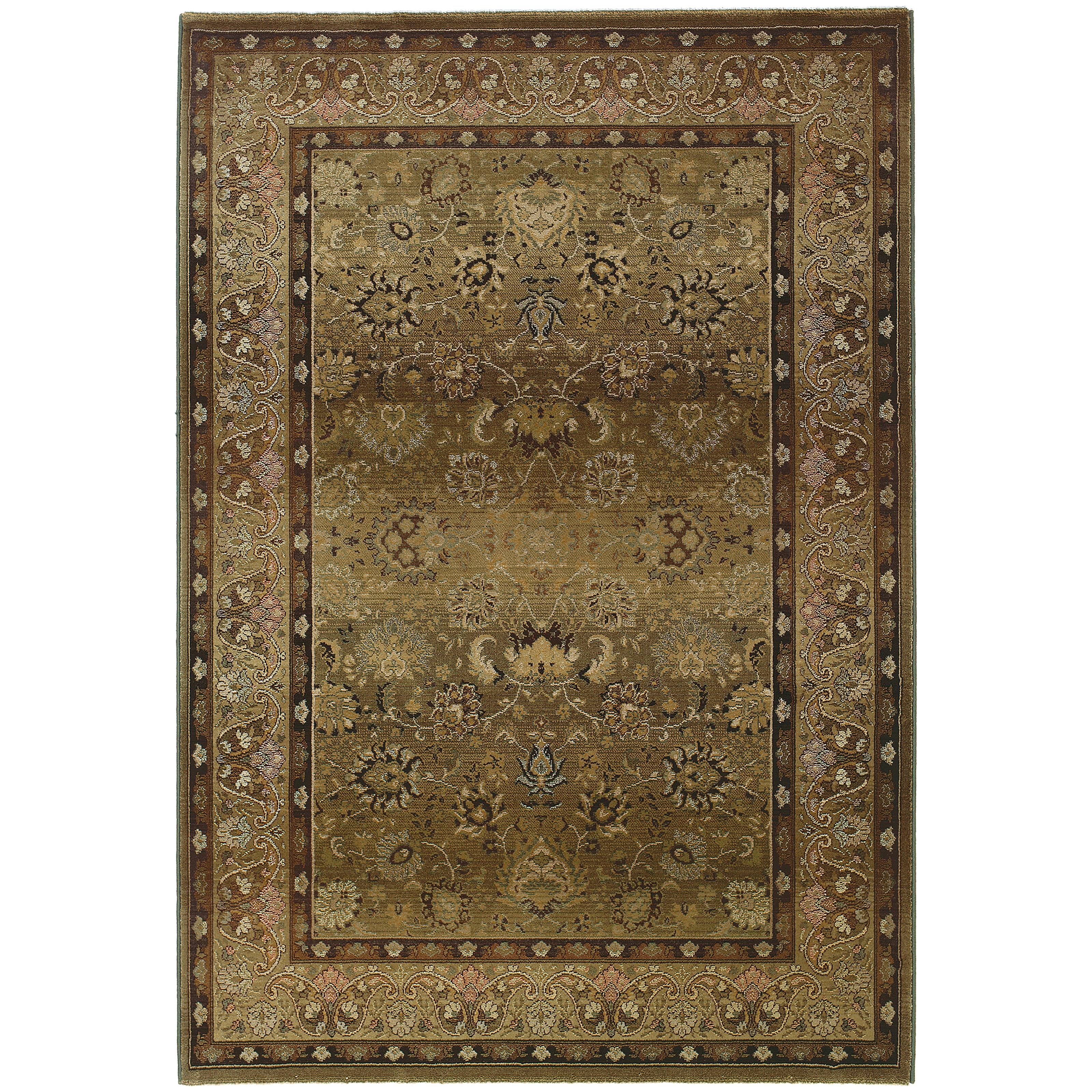 "Oriental Weavers Generations 9' 9"" X 12' 2"" Rug - Item Number: G3434J300380ST"