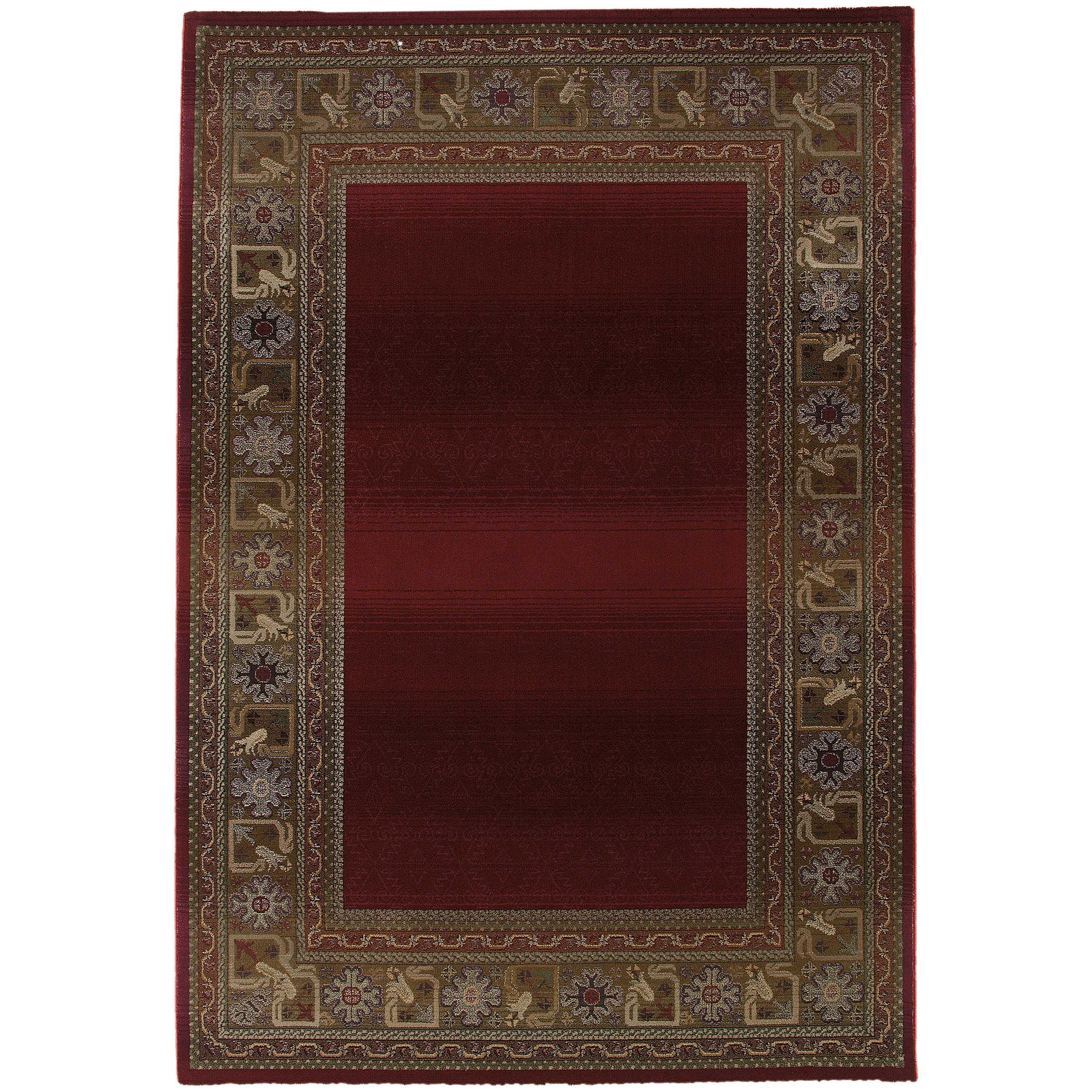"Oriental Weavers Generations 4' X  5' 9"" Rug - Item Number: G3436R120180ST"