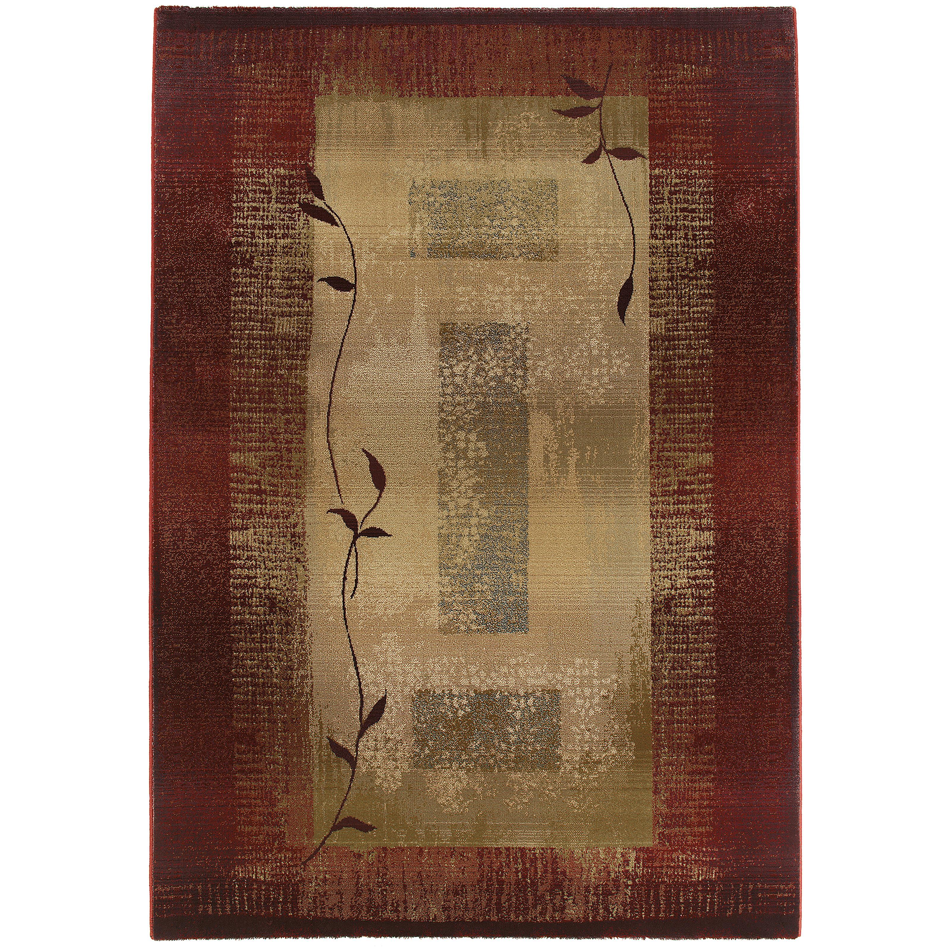 "Oriental Weavers Generations 7'10"" X 11' Rug - Item Number: G544X1240340ST"