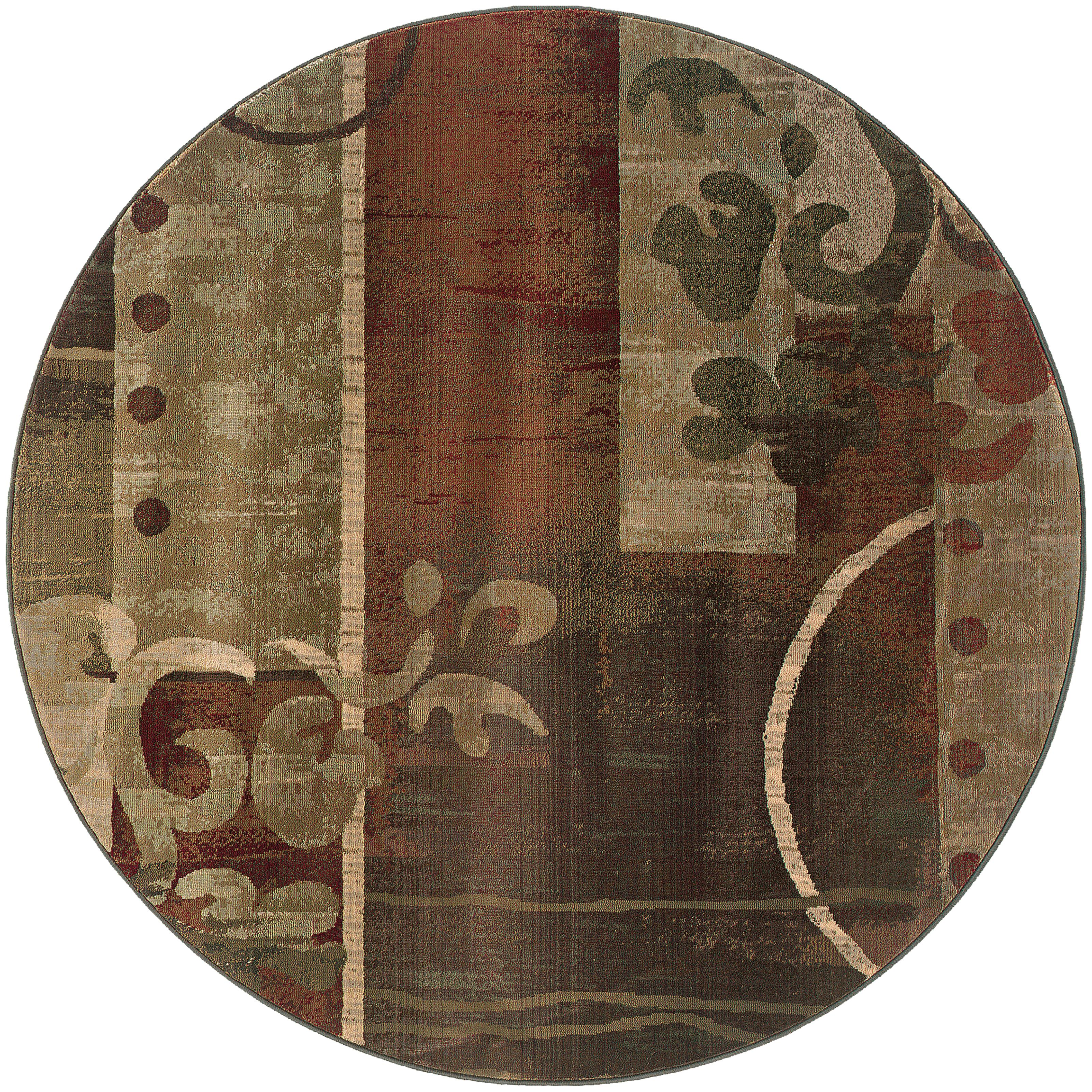 Oriental Weavers Generations 6' Rug - Item Number: G8007A180180ST