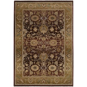 Oriental Weavers Generations 8' Traditional Purple/ Gold Square Rug