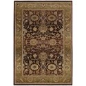Oriental Weavers Generations 8' Traditional Purple/ Gold Square Rug - Item Number: GEN1732M8SQUARE