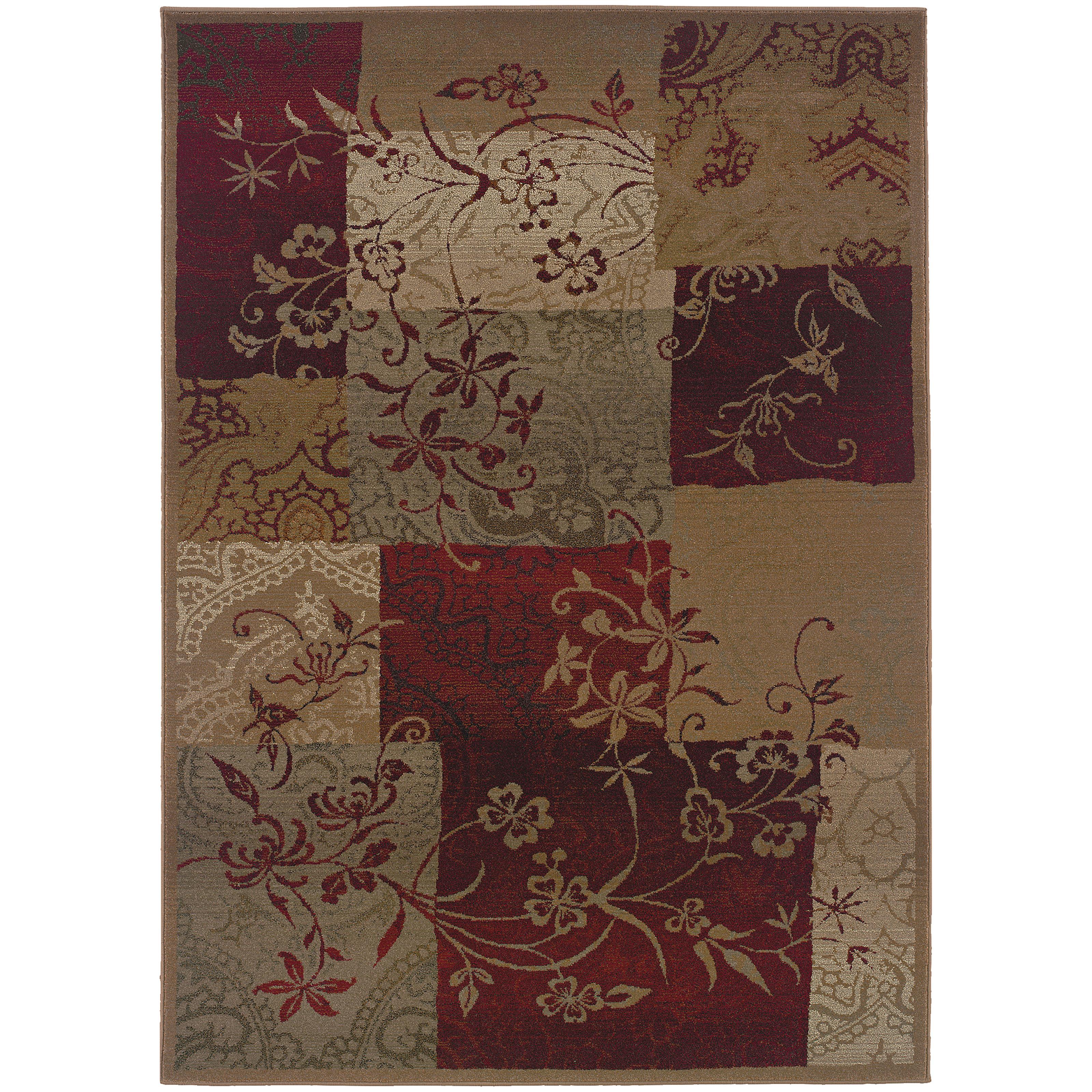 """Oriental Weavers Genesis 4' 0"""" X  5' 9"""" Rug - Item Number: G080X1120180ST"""