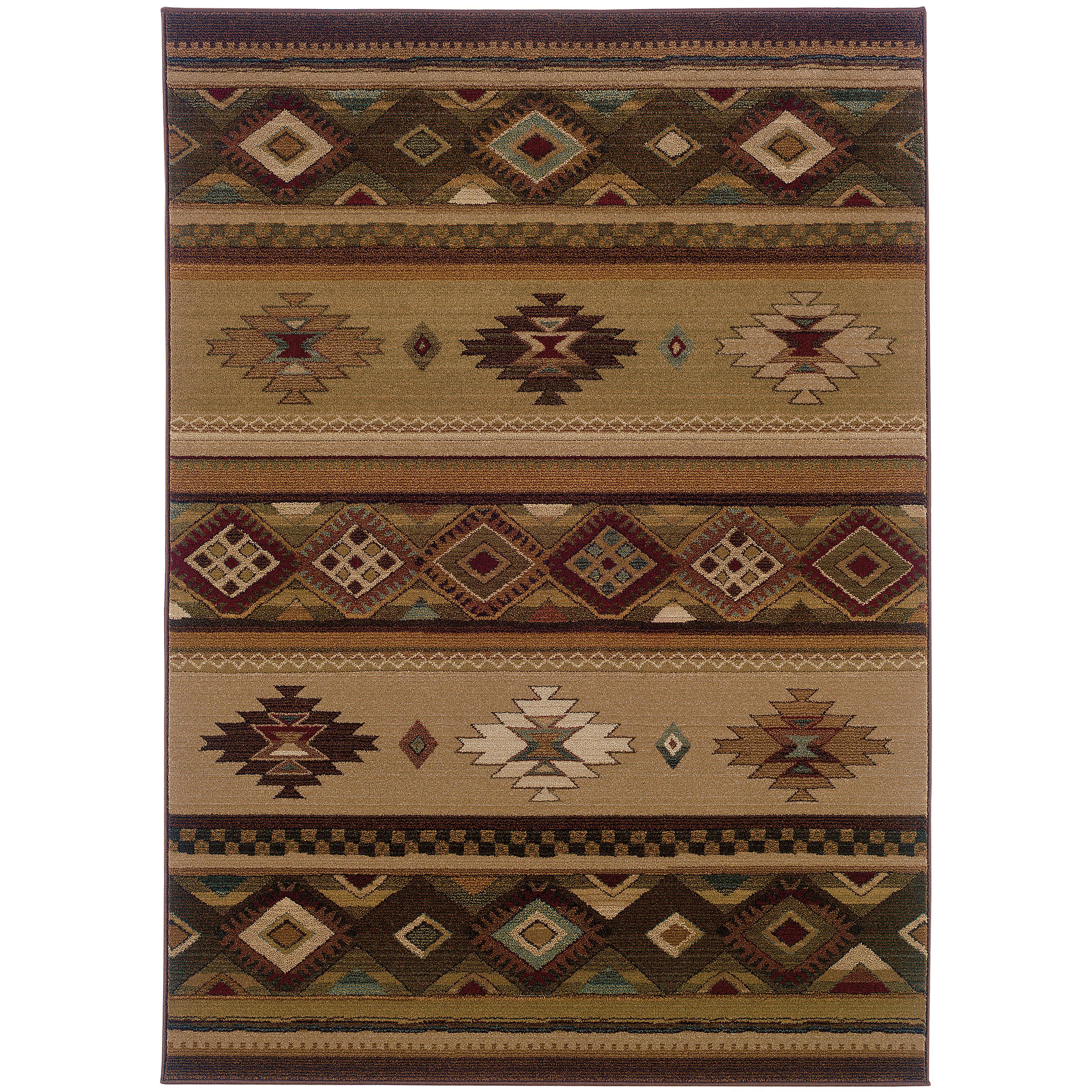 """Oriental Weavers Genesis 4' 0"""" X  5' 9"""" Rug - Item Number: G090J1120180ST"""