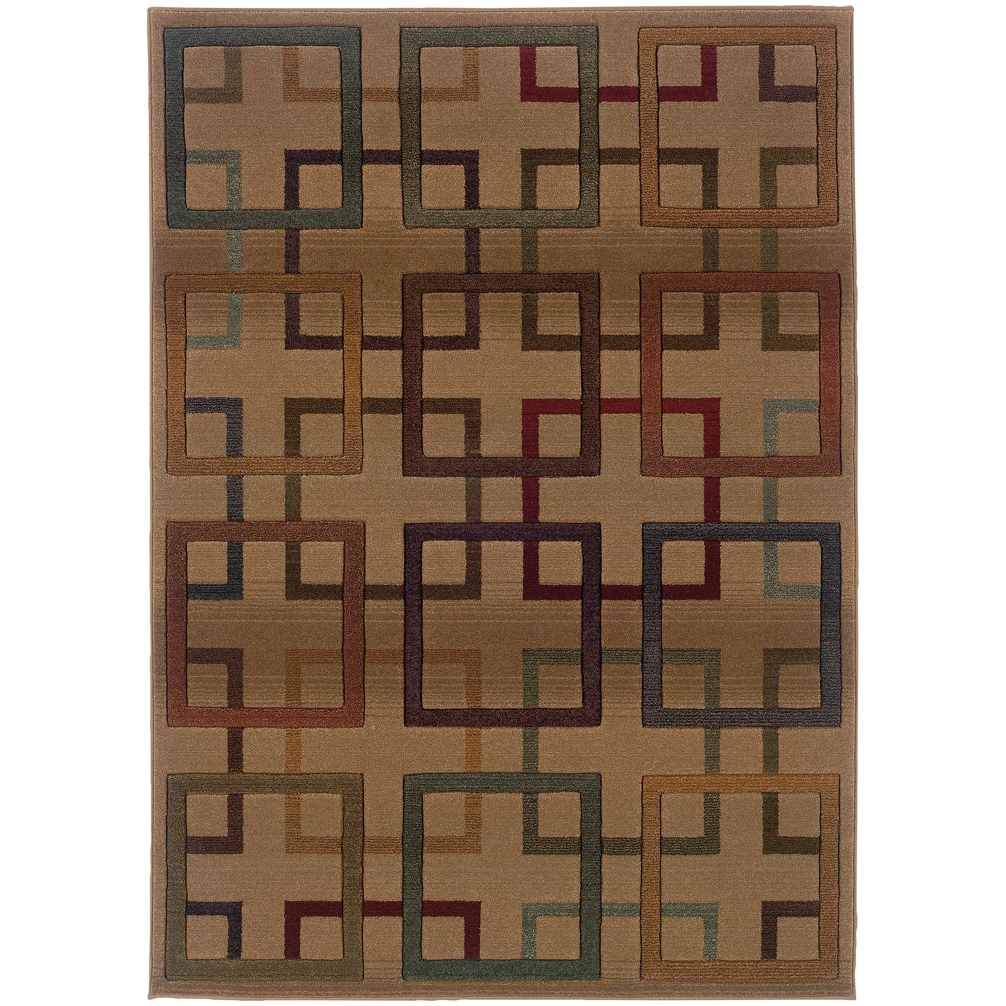"""Oriental Weavers Genesis 7'10"""" X 11' 0"""" Rug - Item Number: G096J1240340ST"""