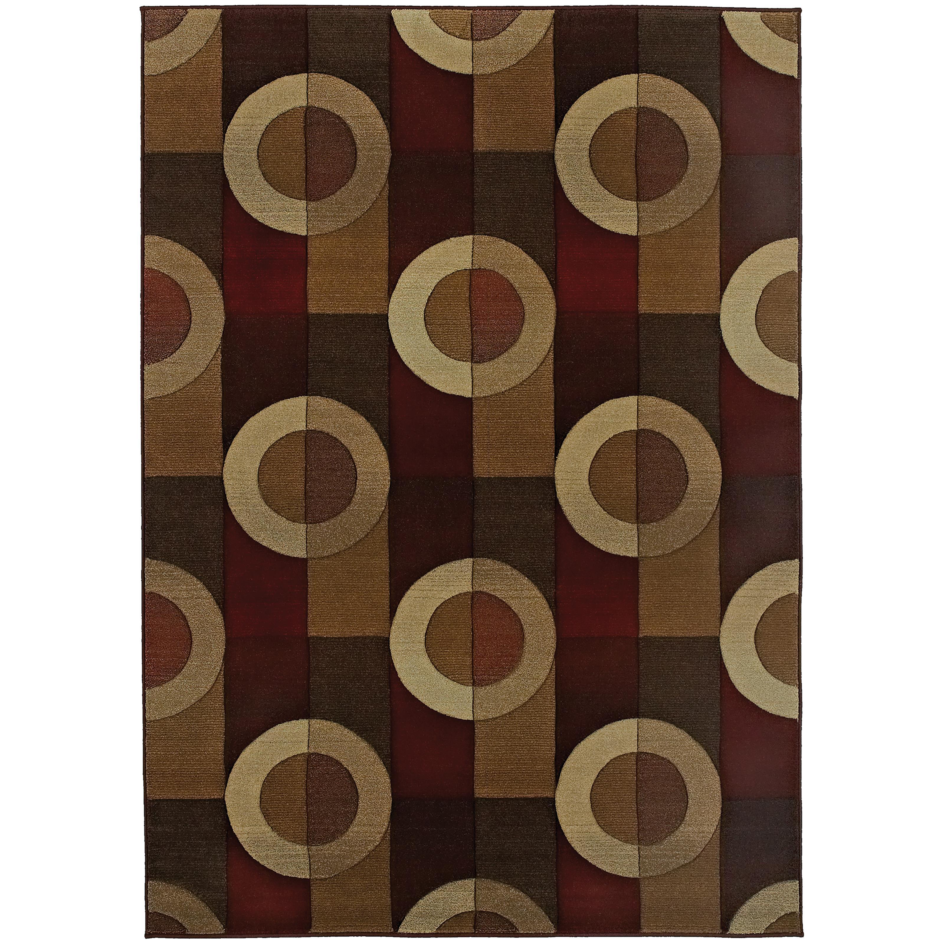 """Oriental Weavers Genesis 5' 3"""" X  7' 6"""" Rug - Item Number: G097R1160235ST"""