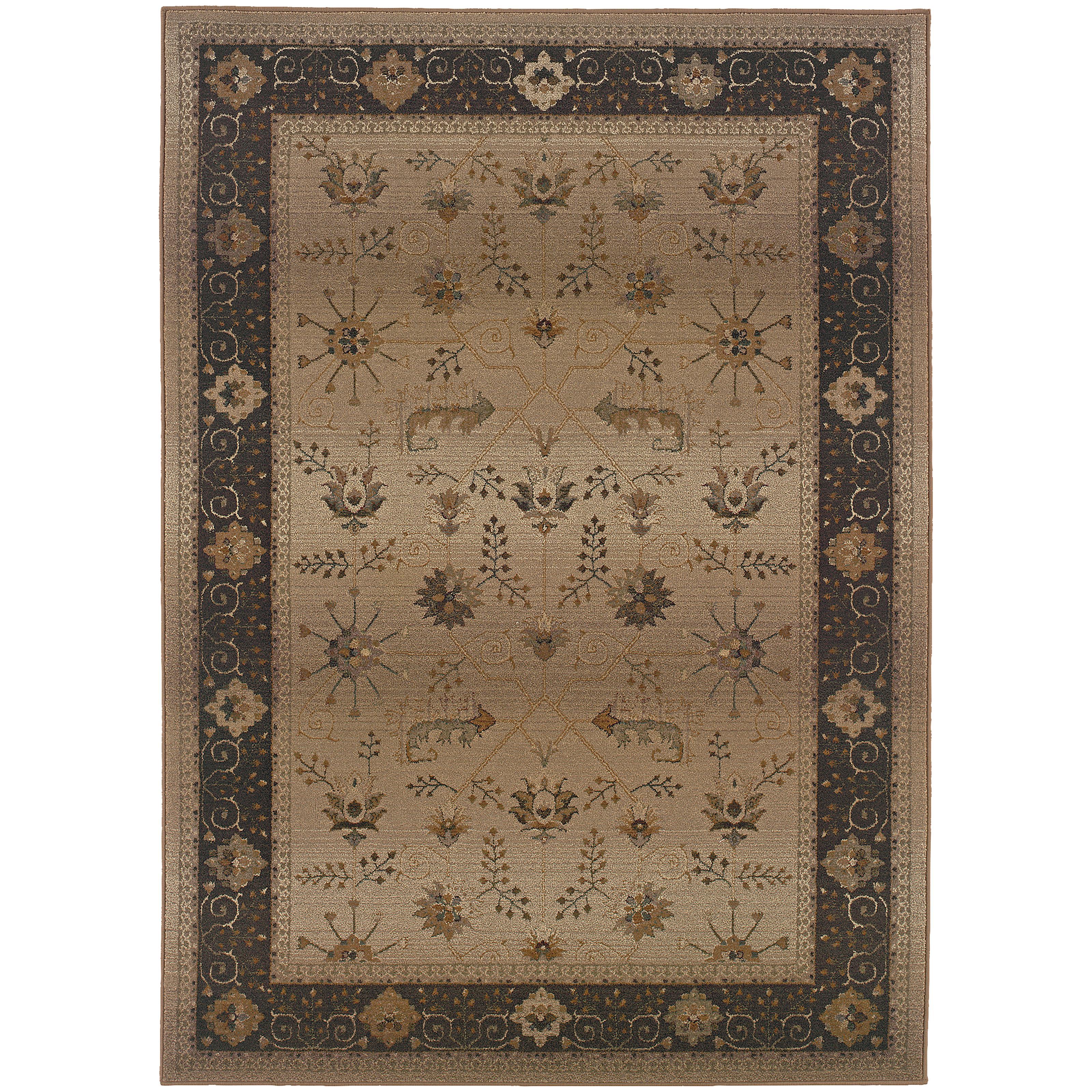 """Oriental Weavers Genesis 4' 0"""" X  5' 9"""" Rug - Item Number: G112M1120180ST"""