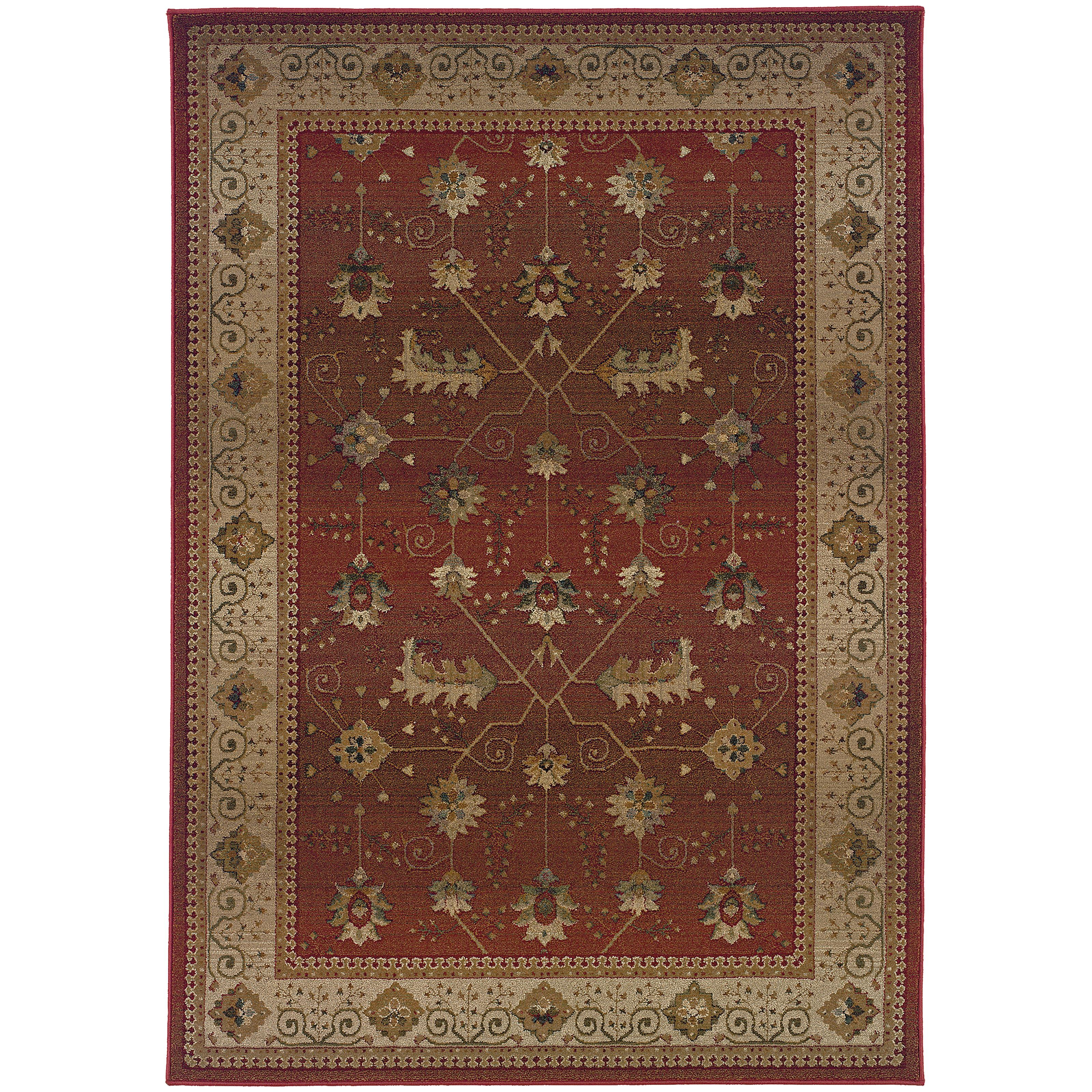 """Oriental Weavers Genesis 4' 0"""" X  5' 9"""" Rug - Item Number: G112P1120180ST"""