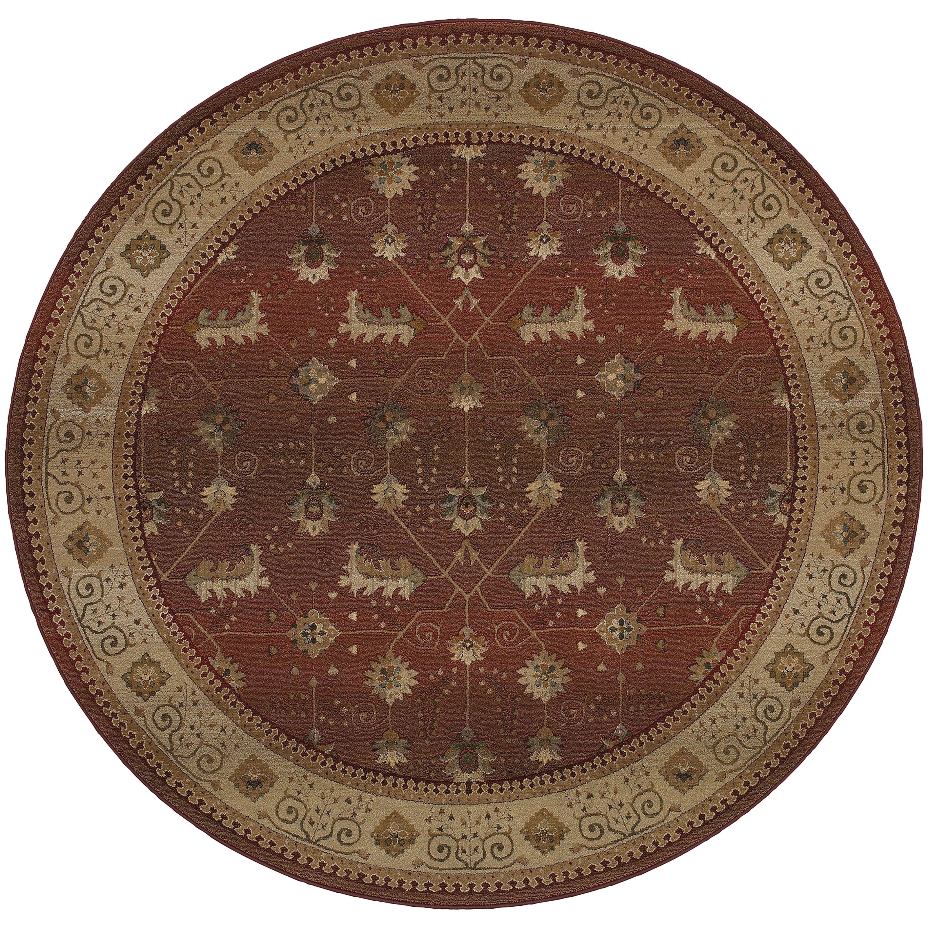 Oriental Weavers Genesis 8' Rug - Item Number: G112P1240240ST