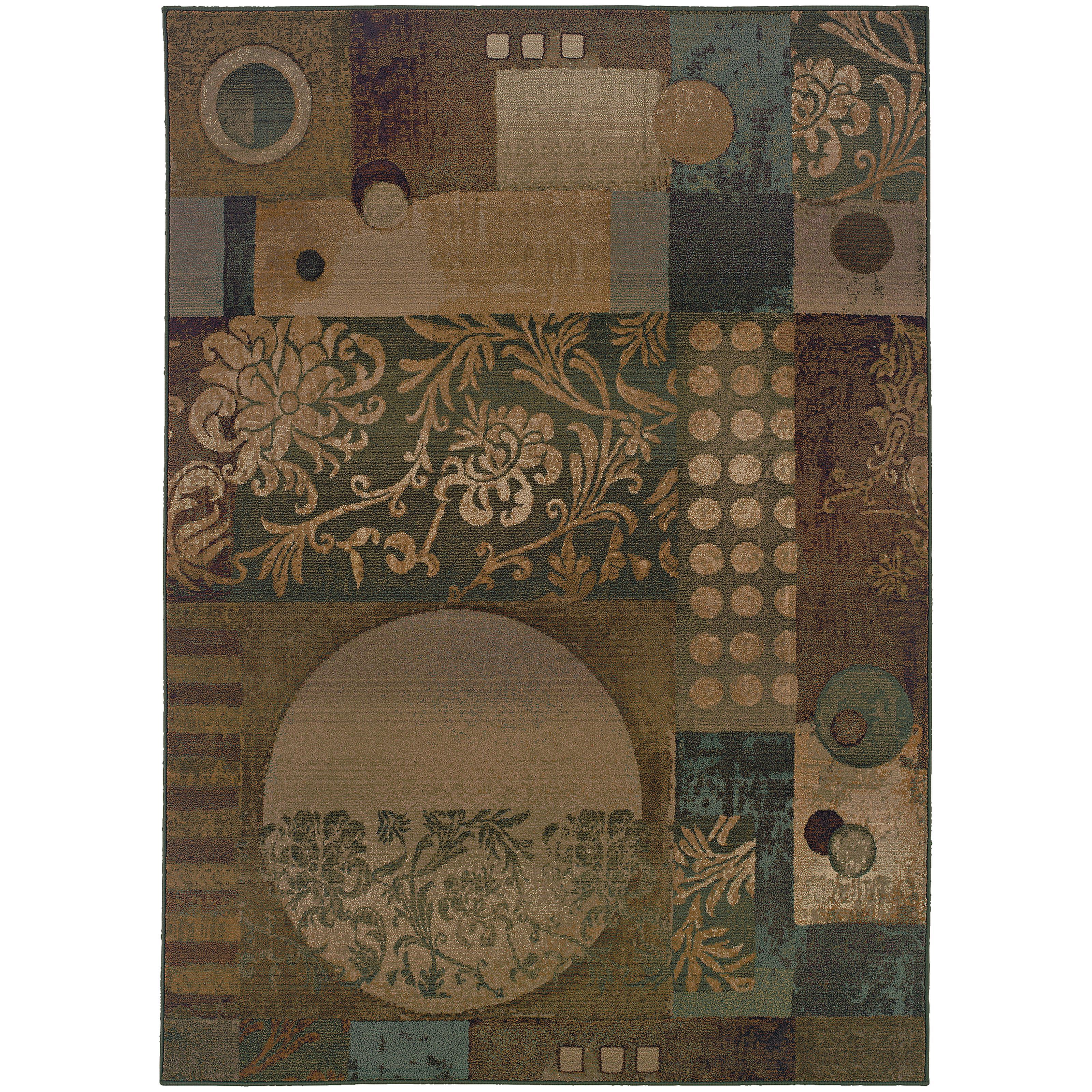 """Oriental Weavers Genesis 4' 0"""" X  5' 9"""" Rug - Item Number: G511Z1120180ST"""