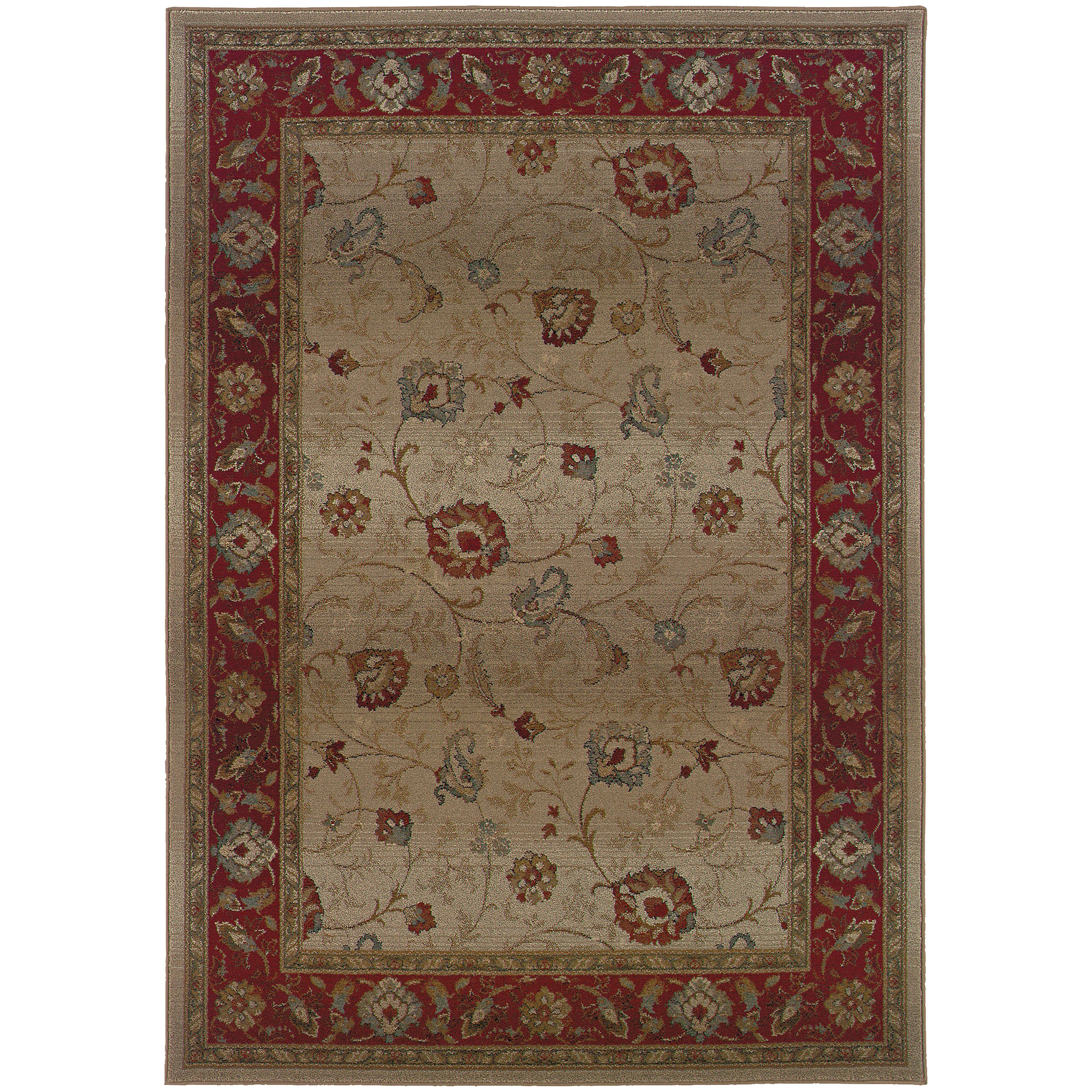 """Oriental Weavers Genesis 5' 3"""" X  7' 6"""" Rug - Item Number: G521J1160235ST"""
