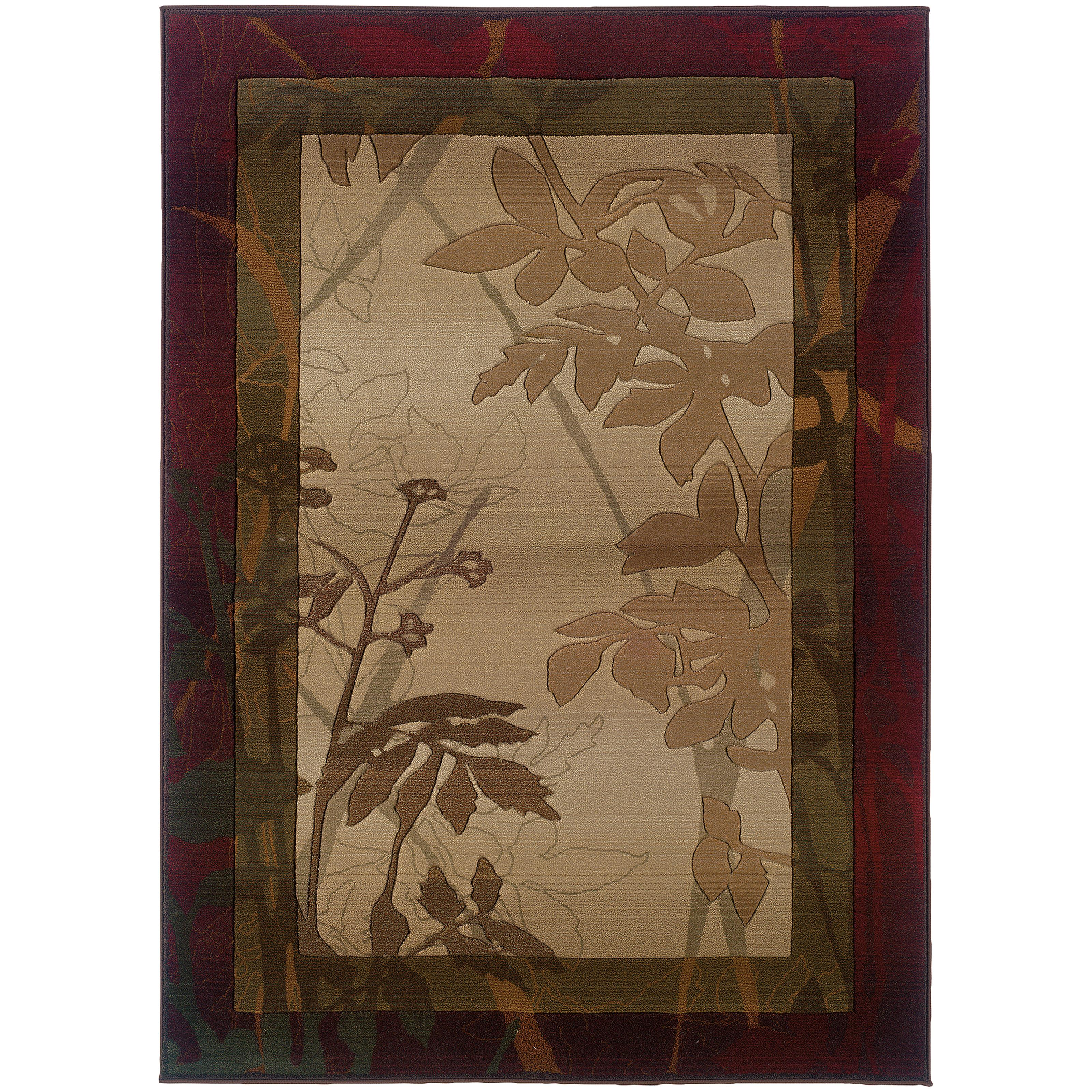 """Oriental Weavers Genesis 4' 0"""" X  5' 9"""" Rug - Item Number: G5991C120180ST"""