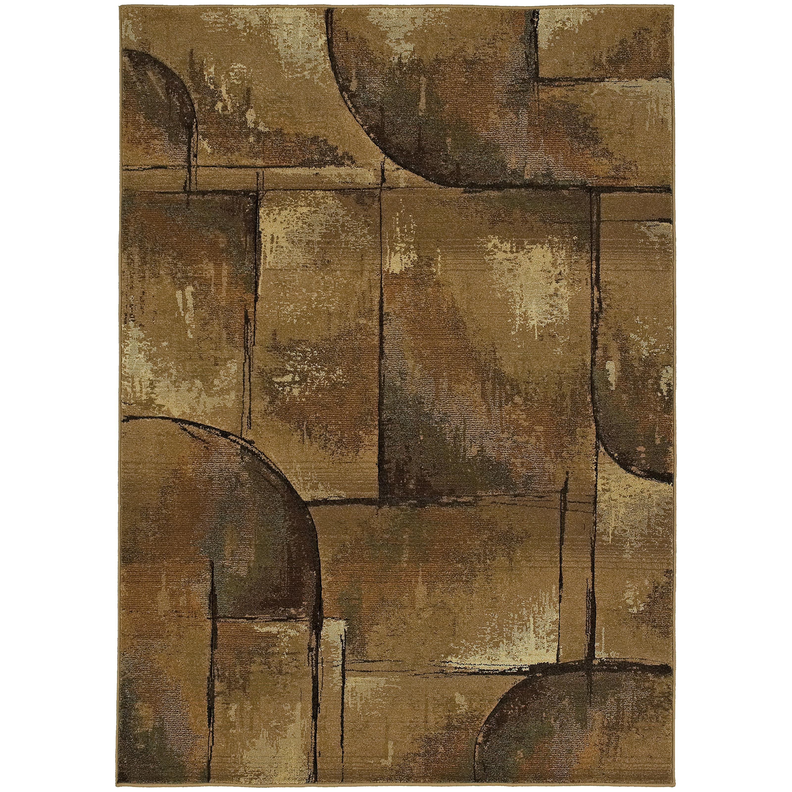 """Oriental Weavers Genesis 4' 0"""" X  5' 9"""" Rug - Item Number: G8025X120180ST"""