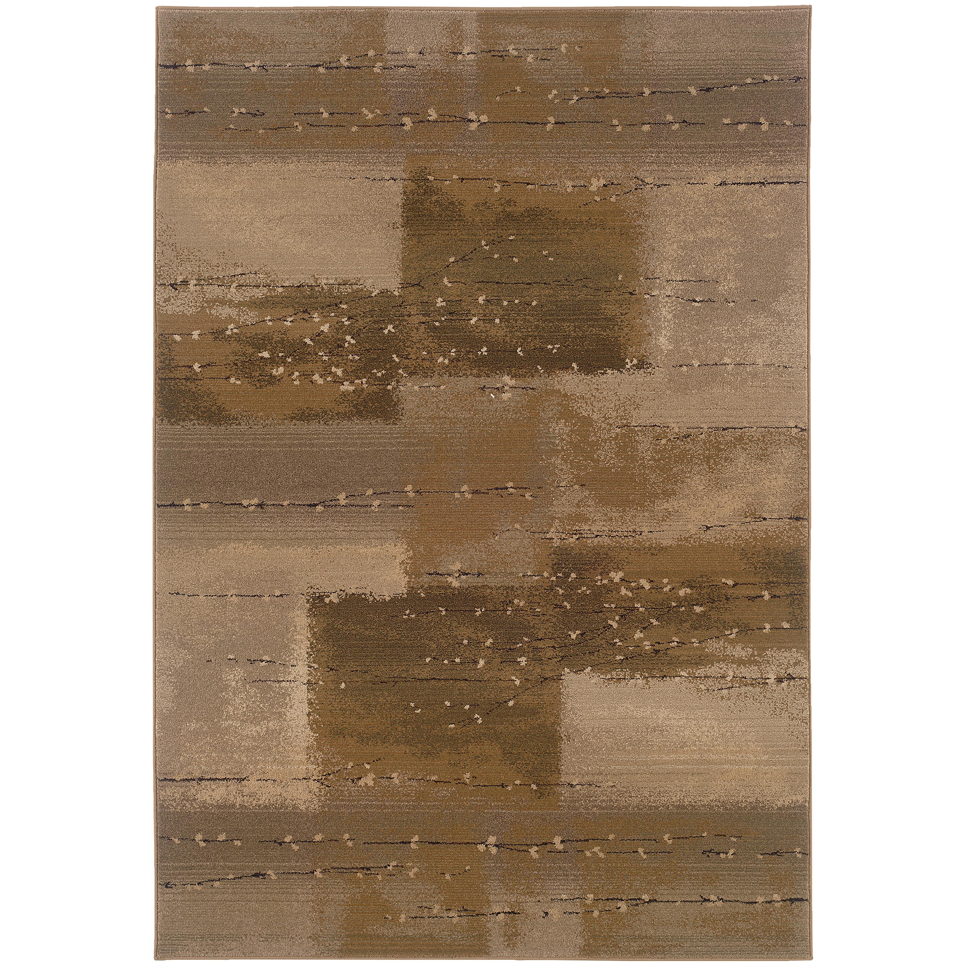 """Oriental Weavers Genesis 4' 0"""" X  5' 9"""" Rug - Item Number: G908A1120180ST"""