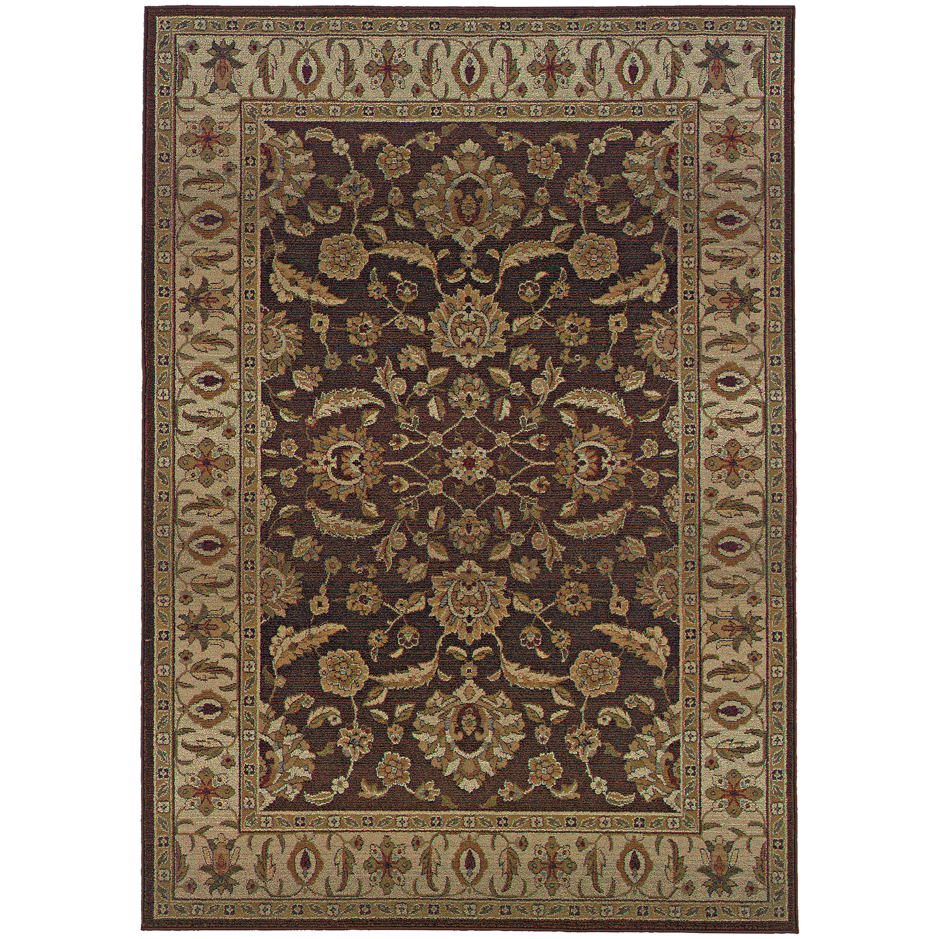 """Oriental Weavers Genesis 4' 0"""" X  5' 9"""" Rug - Item Number: G952M1120180ST"""