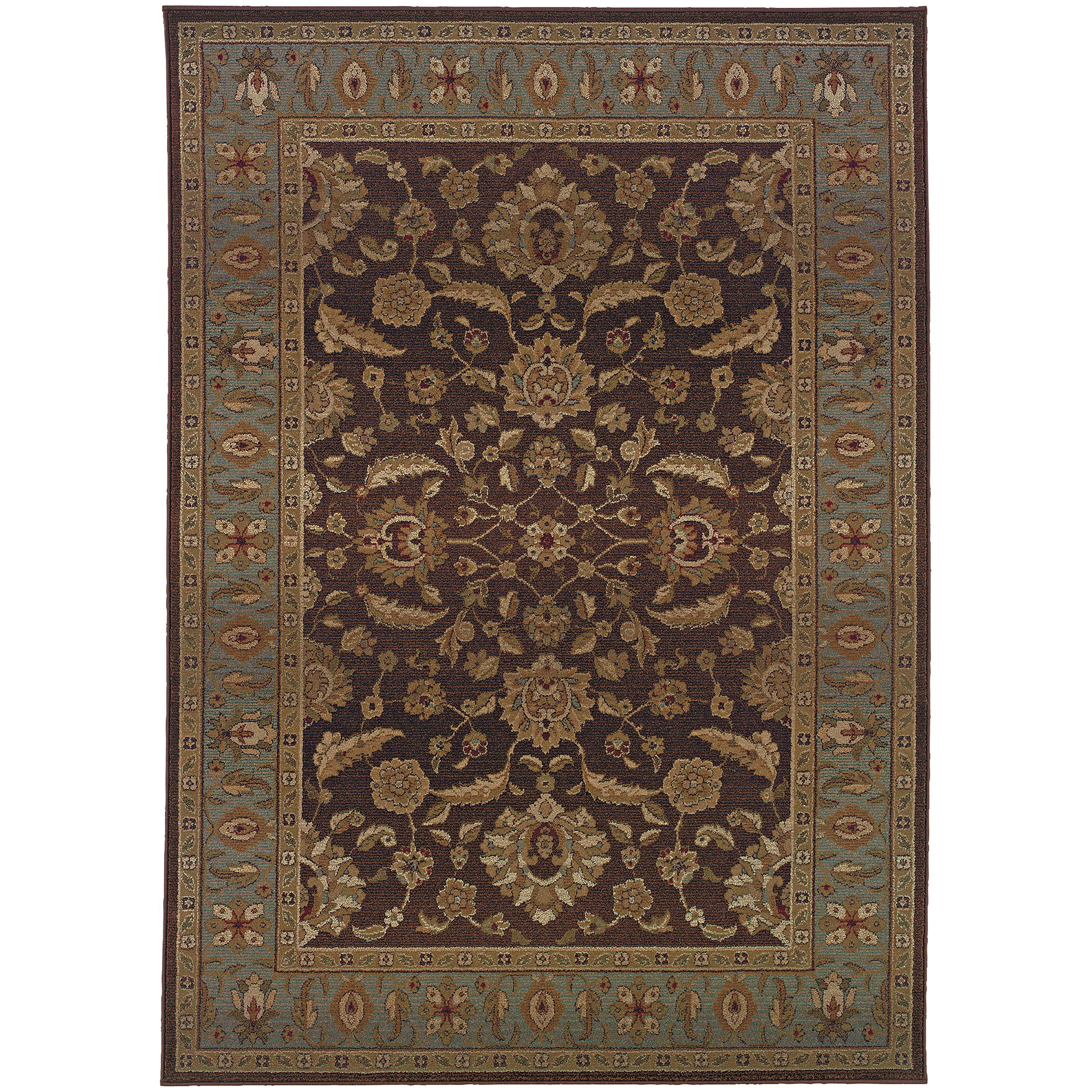 """Oriental Weavers Genesis 7'10"""" X 11' 0"""" Rug - Item Number: G952Q1240340ST"""