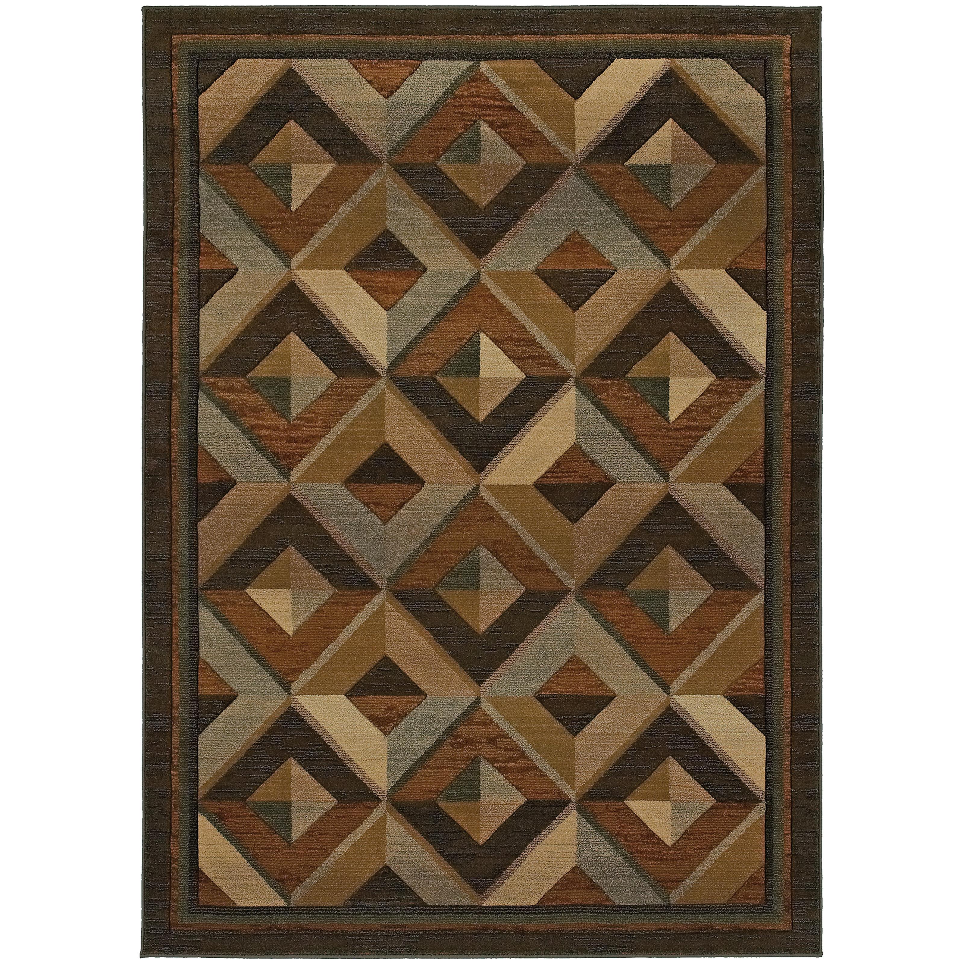 """Oriental Weavers Genesis 7'10"""" X 11' 0"""" Rug - Item Number: G956Q1240340ST"""