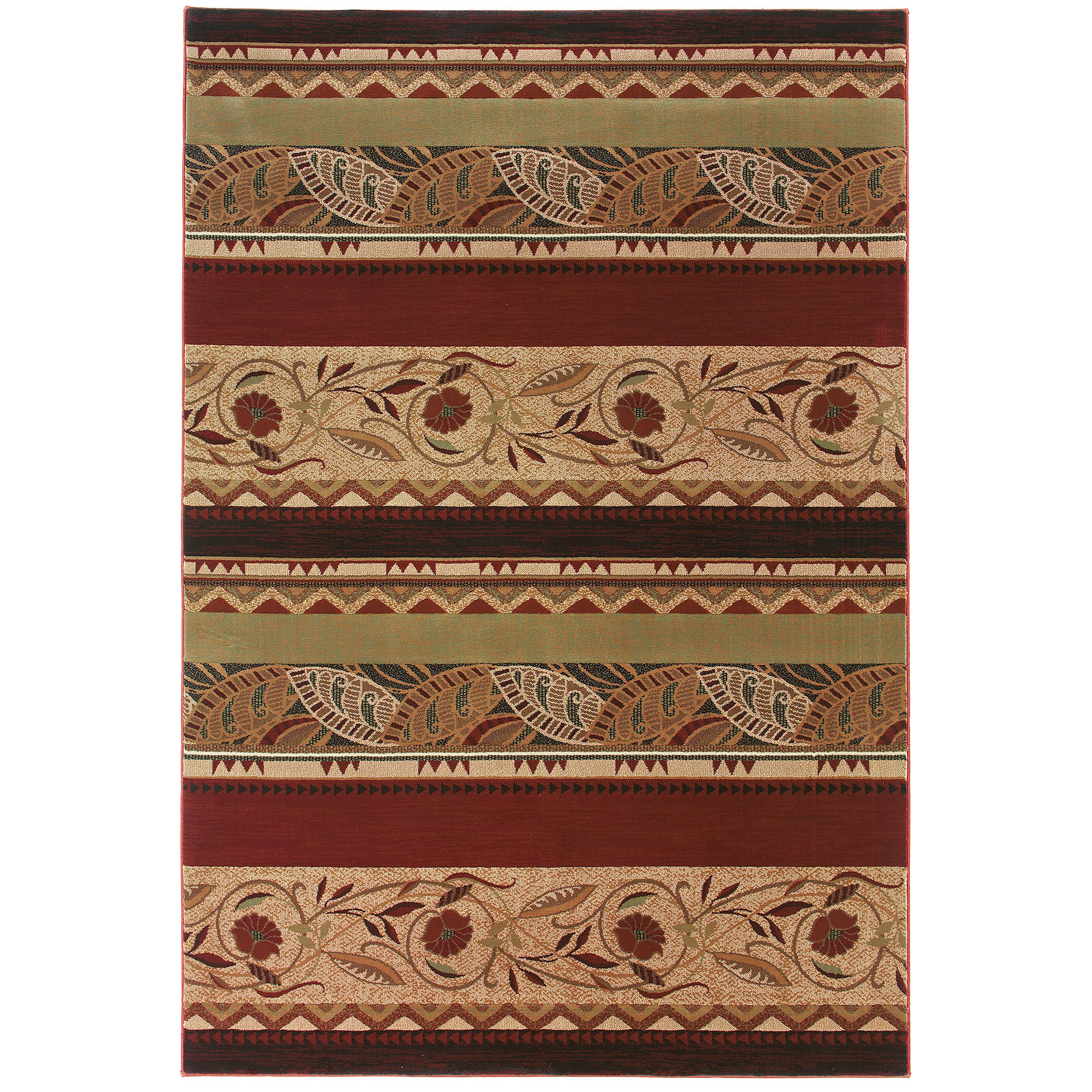 """Oriental Weavers Genre 5' 3"""" X  7' 9"""" Rug - Item Number: G053R1160235ST"""