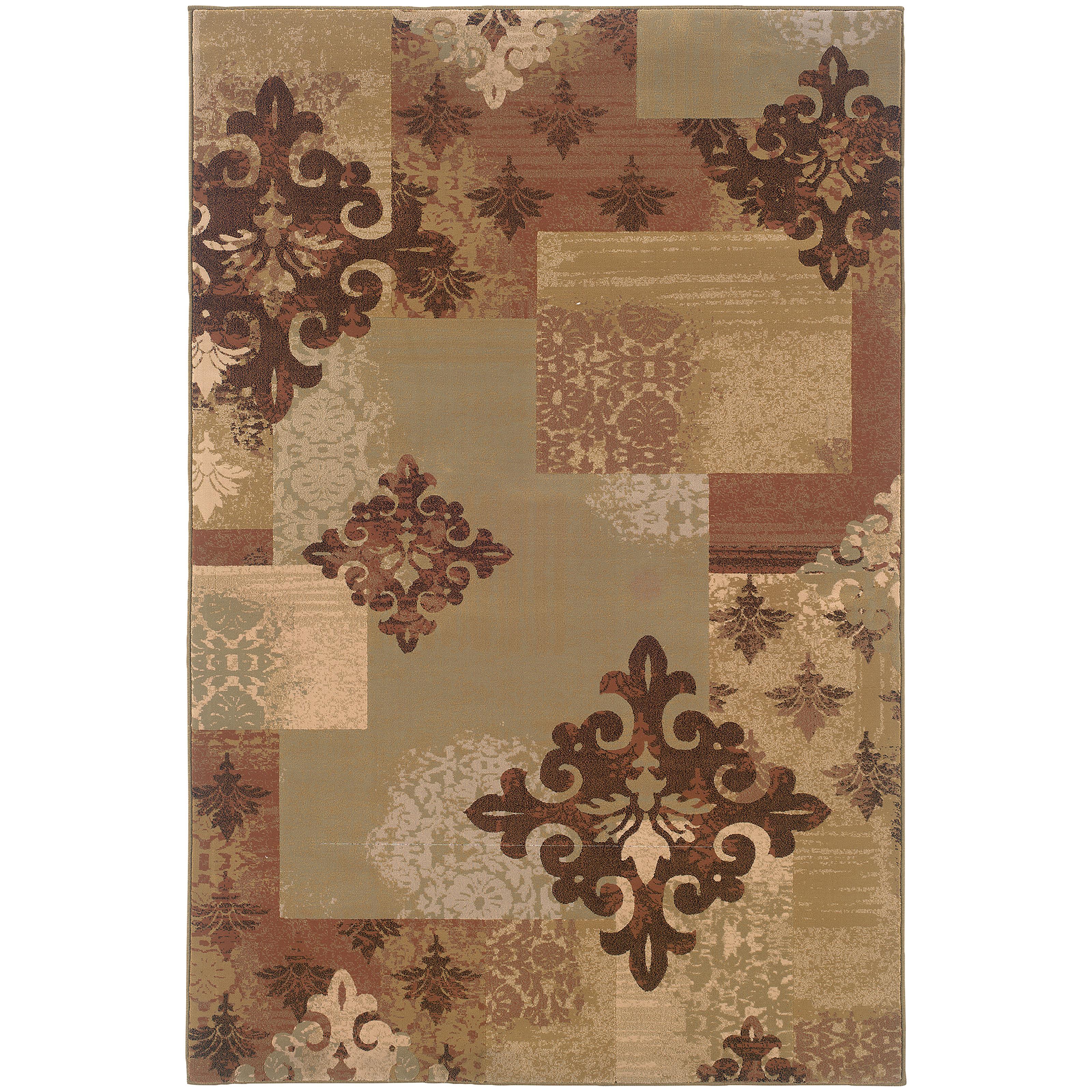 """Oriental Weavers Genre 7'10"""" X 11' 0"""" Rug - Item Number: G2184B2403330ST"""