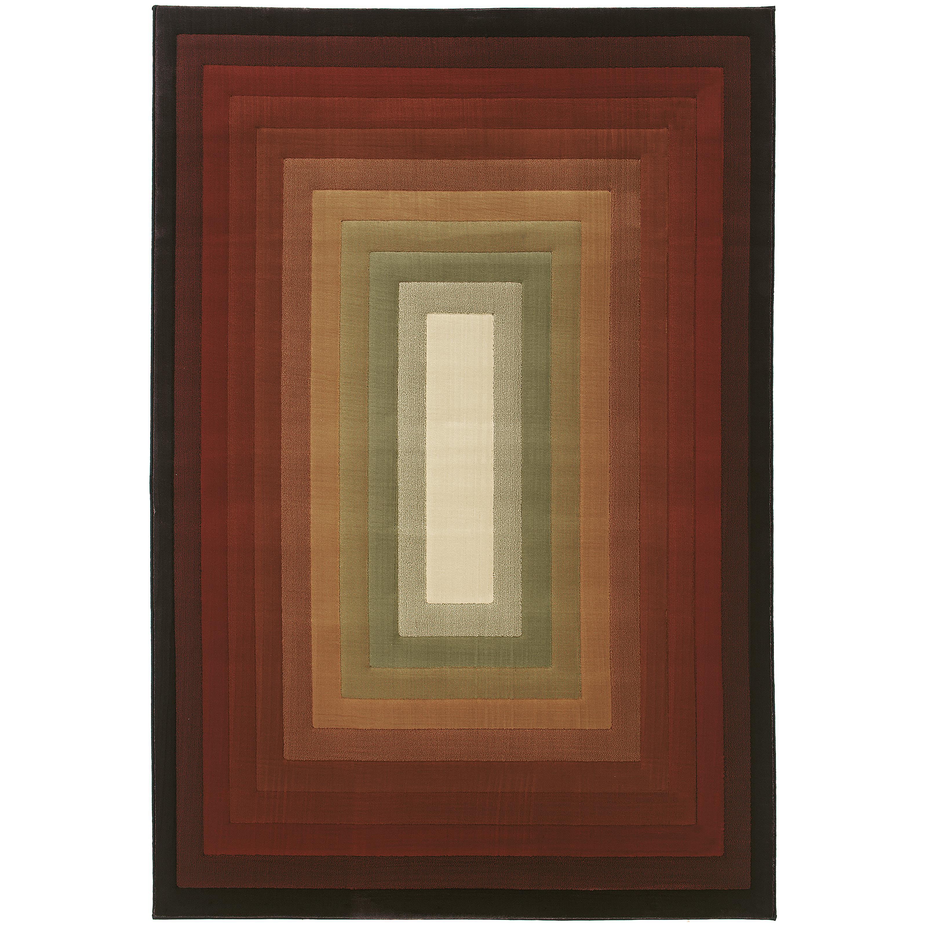 """Oriental Weavers Genre 7'10"""" X 11' 0"""" Rug - Item Number: G682X1240340ST"""