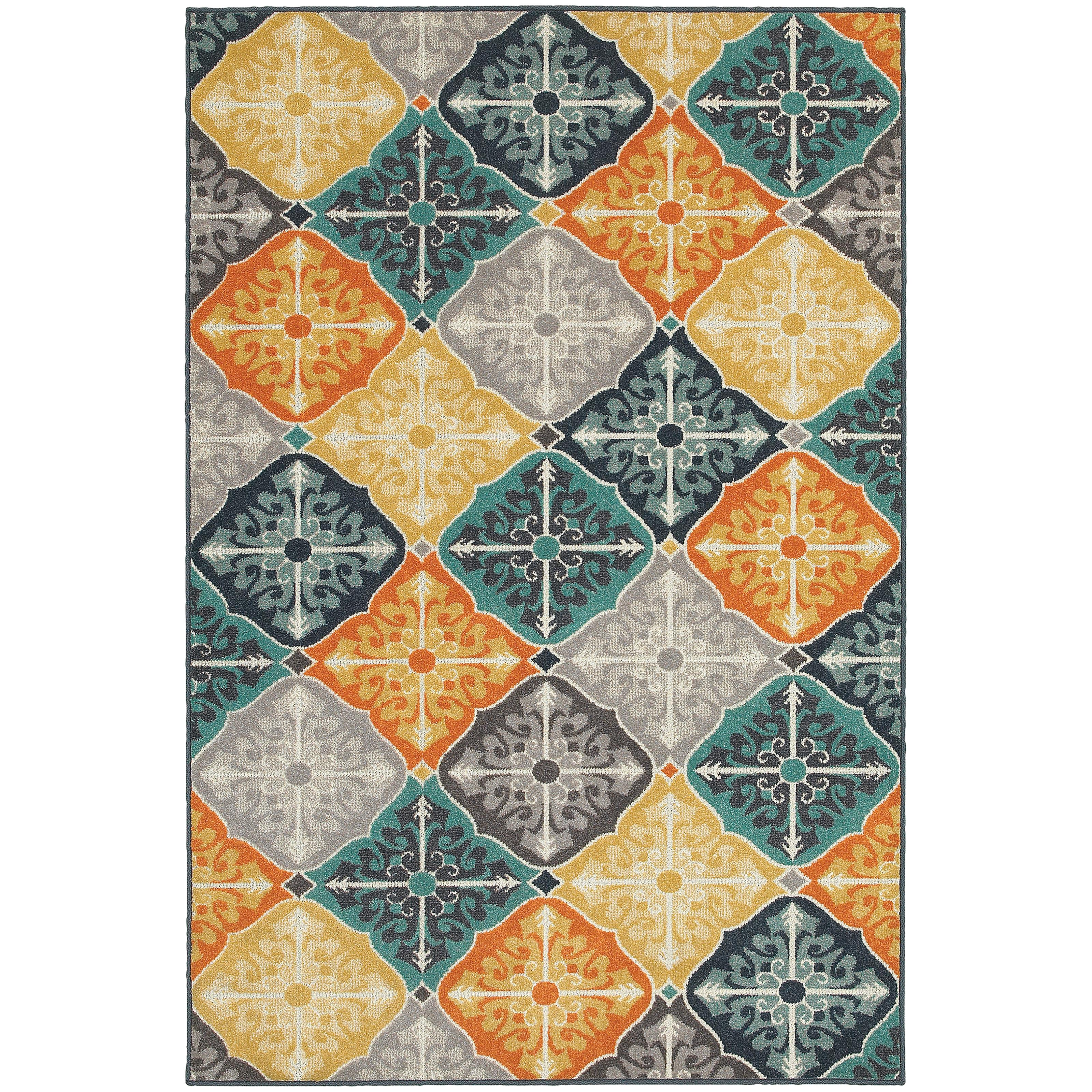 "Oriental Weavers Hampton 5' 3"" X  7' 6"" Rug - Item Number: H2063X160230ST"