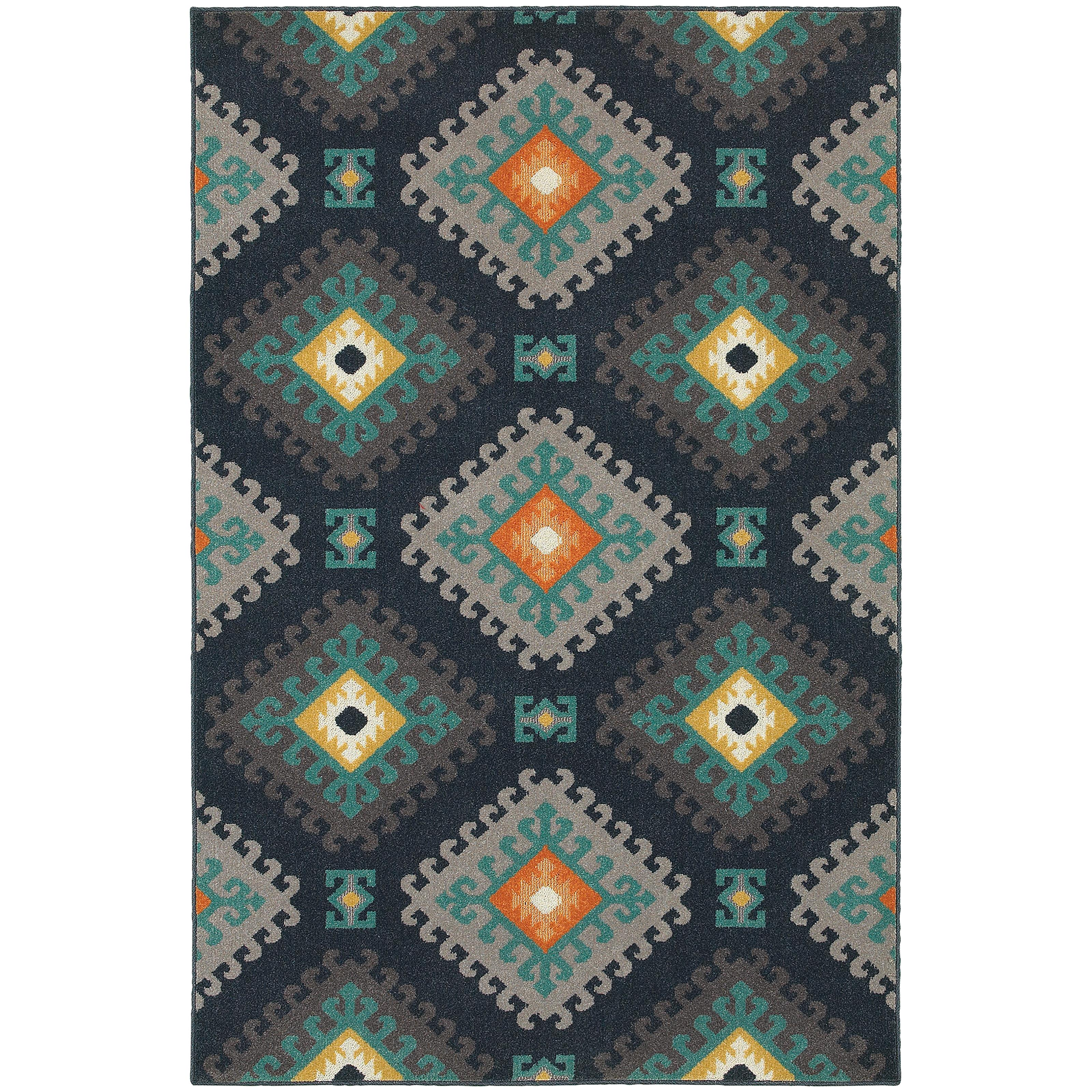 "Oriental Weavers Hampton 5' 3"" X  7' 6"" Rug - Item Number: H4929B160230ST"