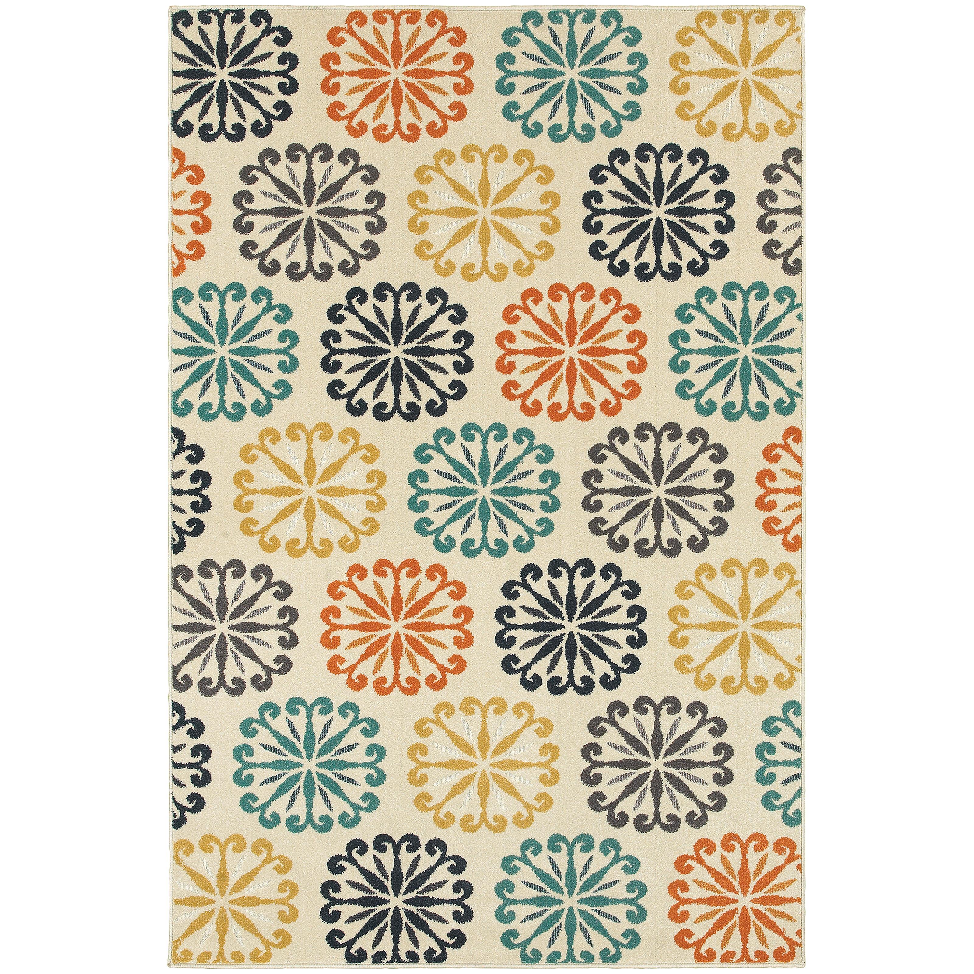 "Oriental Weavers Hampton 1'10"" X  7' 6"" Rug - Item Number: H501W5056230ST"
