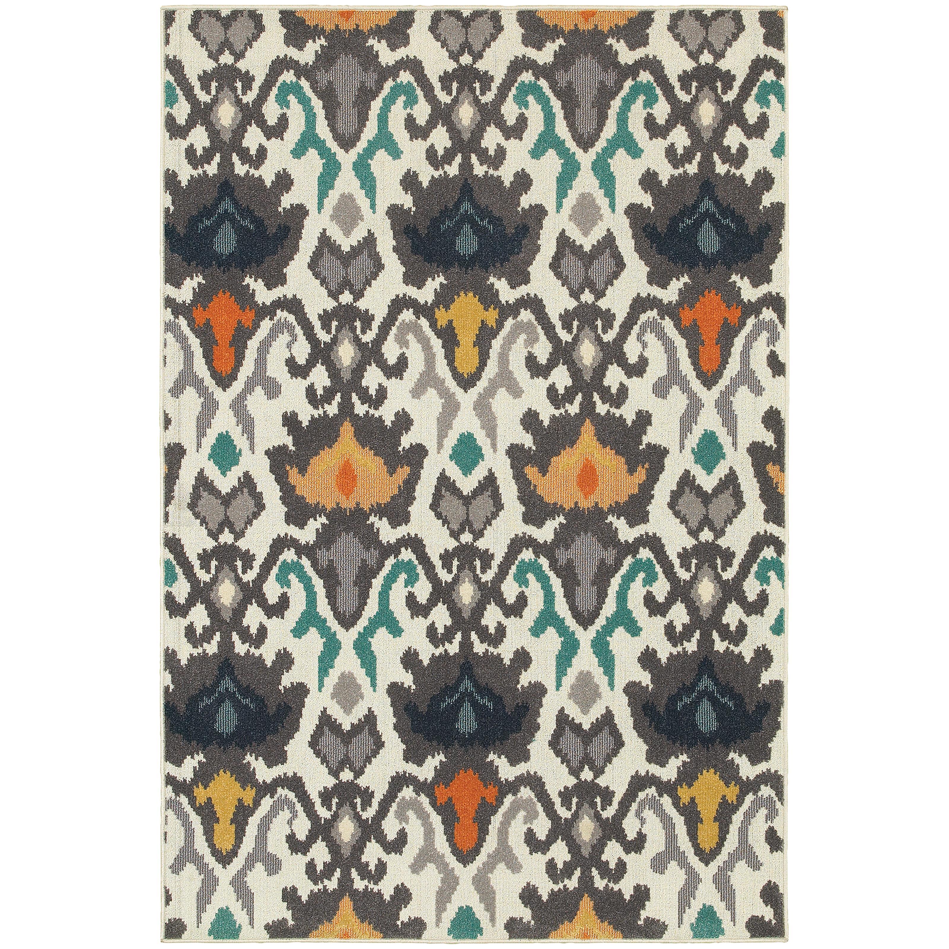 "Oriental Weavers Hampton 9'10"" X 12'10"" Rug - Item Number: H530W5300390ST"