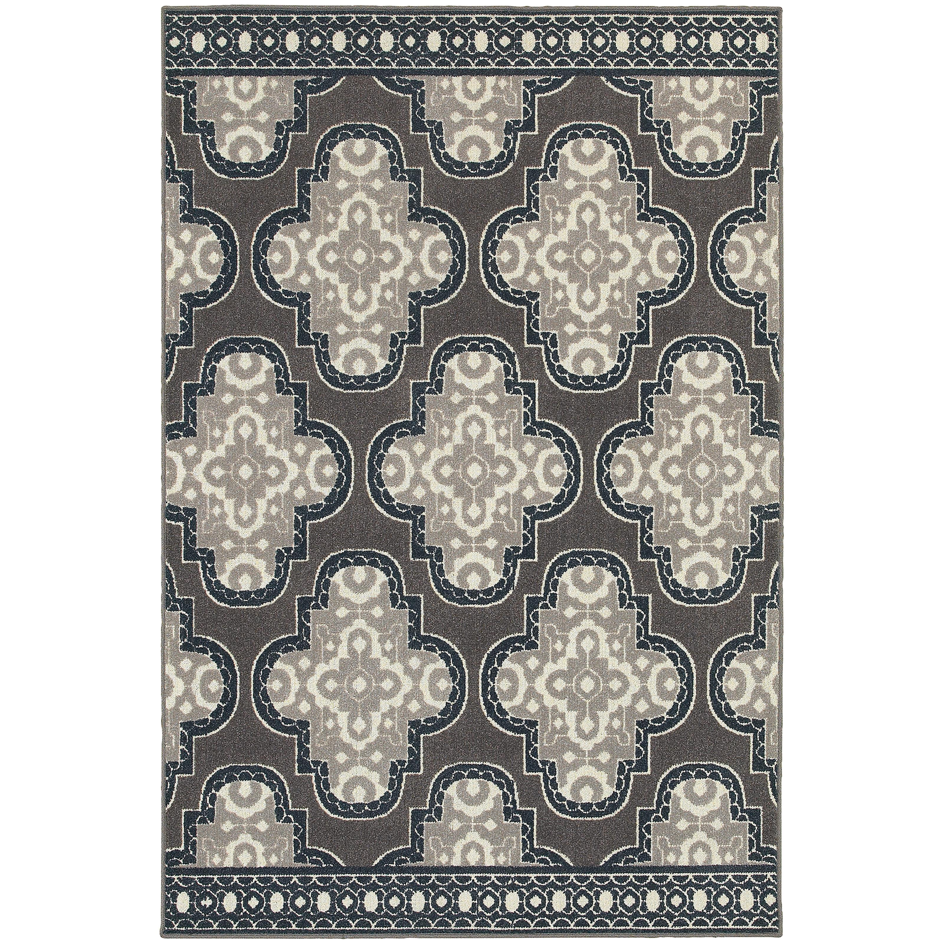"Oriental Weavers Hampton 9'10"" X 12'10"" Rug - Item Number: H5641H300390ST"