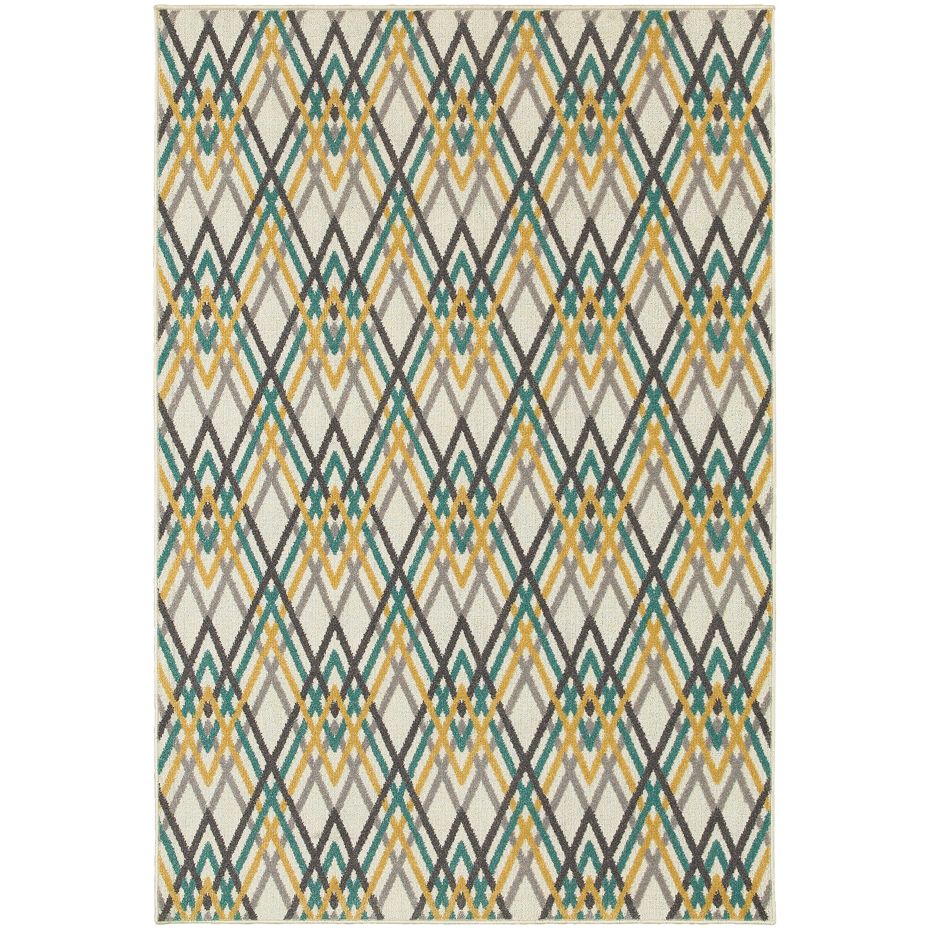 "Oriental Weavers Hampton 5' 3"" X  7' 6"" Rug - Item Number: H564W5160230ST"
