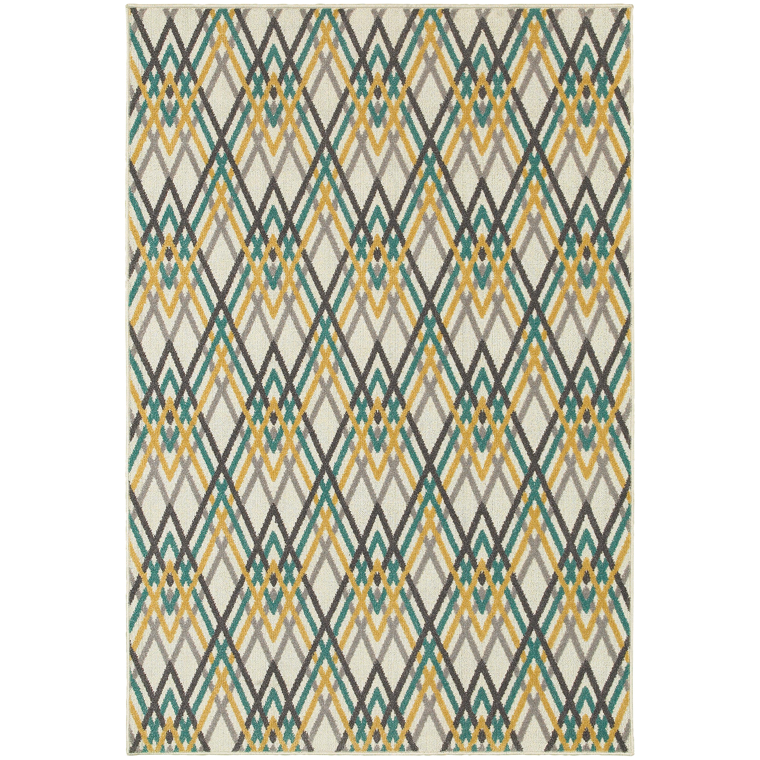 "Oriental Weavers Hampton 7'10"" X 10'10"" Rug - Item Number: H564W5240330ST"
