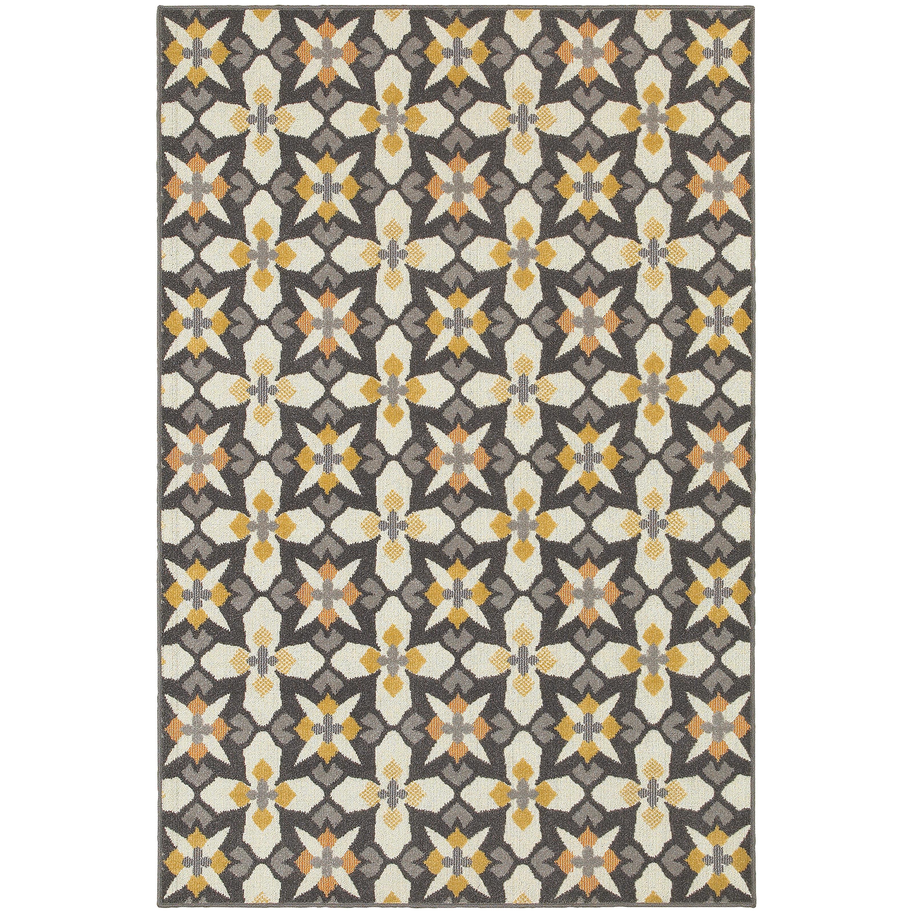 "Oriental Weavers Hampton 9'10"" X 12'10"" Rug - Item Number: H8021L300390ST"