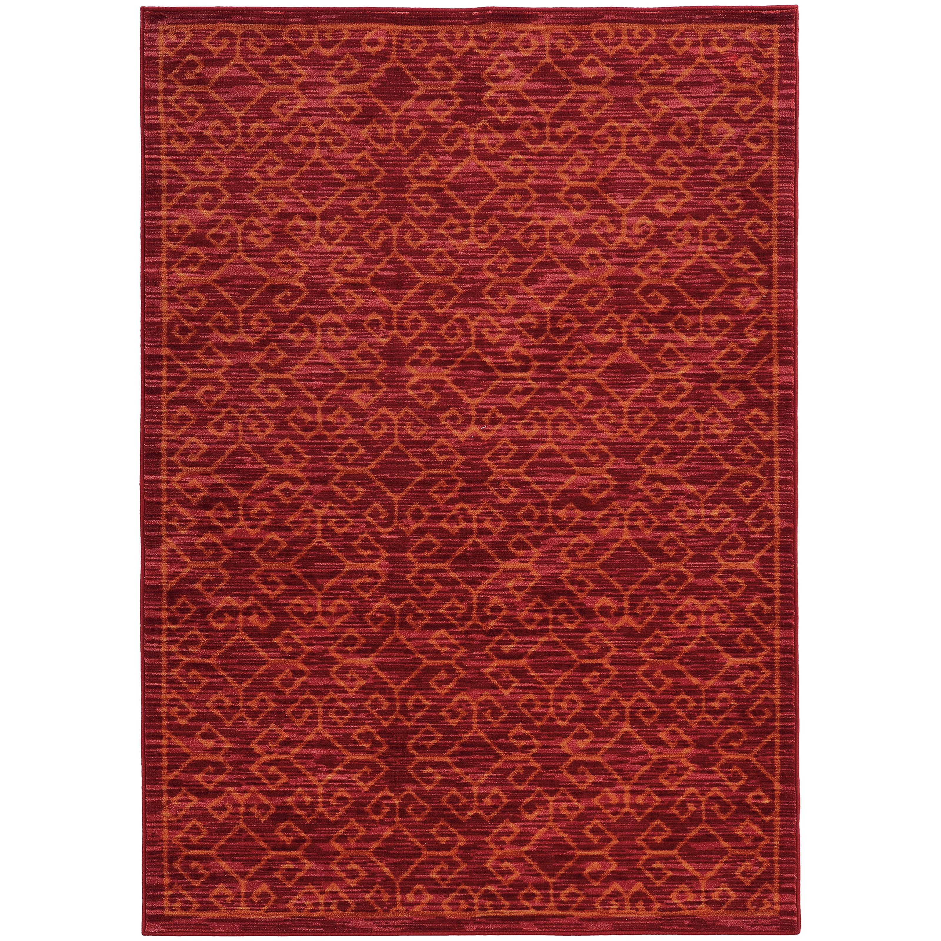 """Oriental Weavers Harper 3' 3"""" X  5' 5"""" Rug - Item Number: H40249100165ST"""
