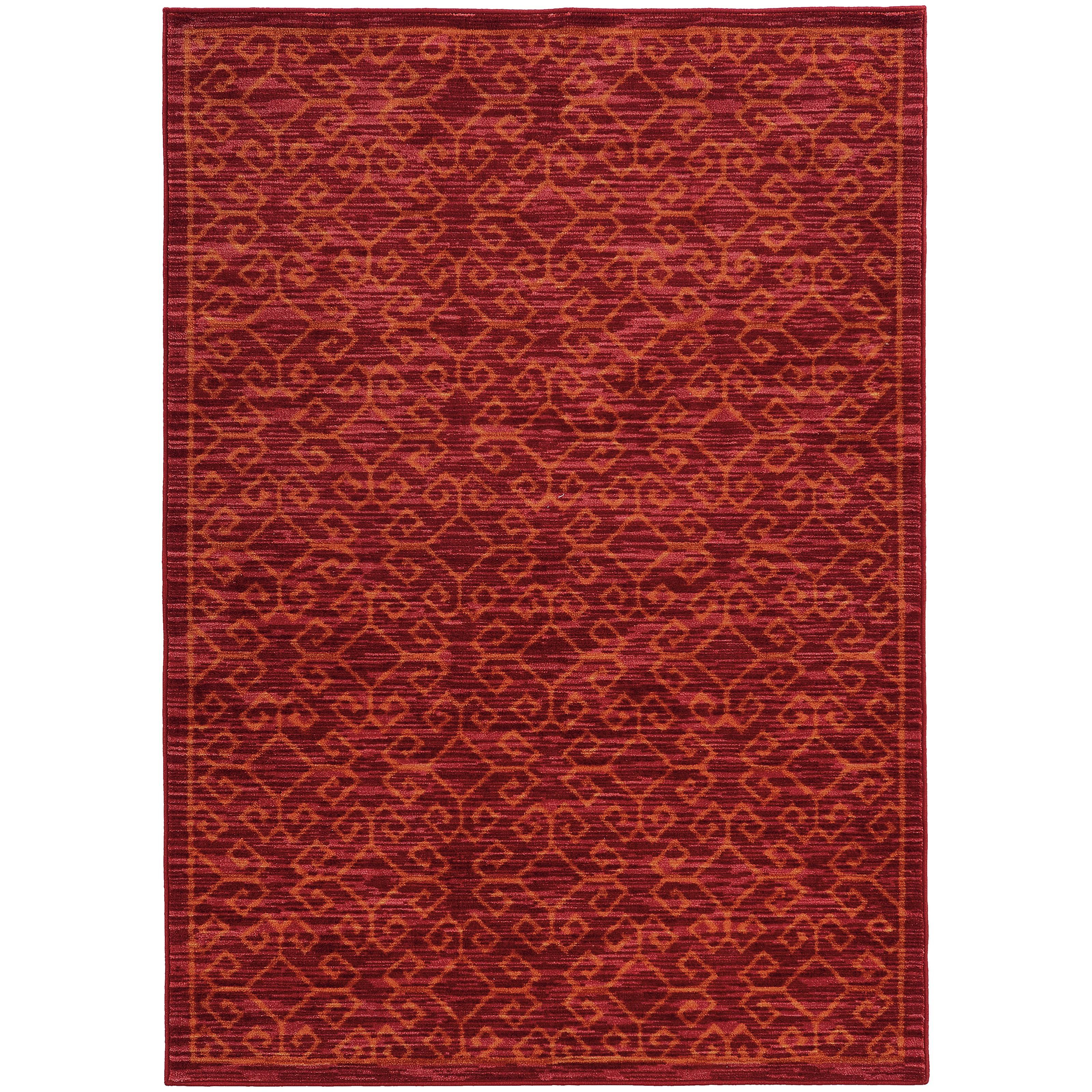 """Oriental Weavers Harper 7'10"""" X 10'10"""" Rug - Item Number: H40249240330ST"""