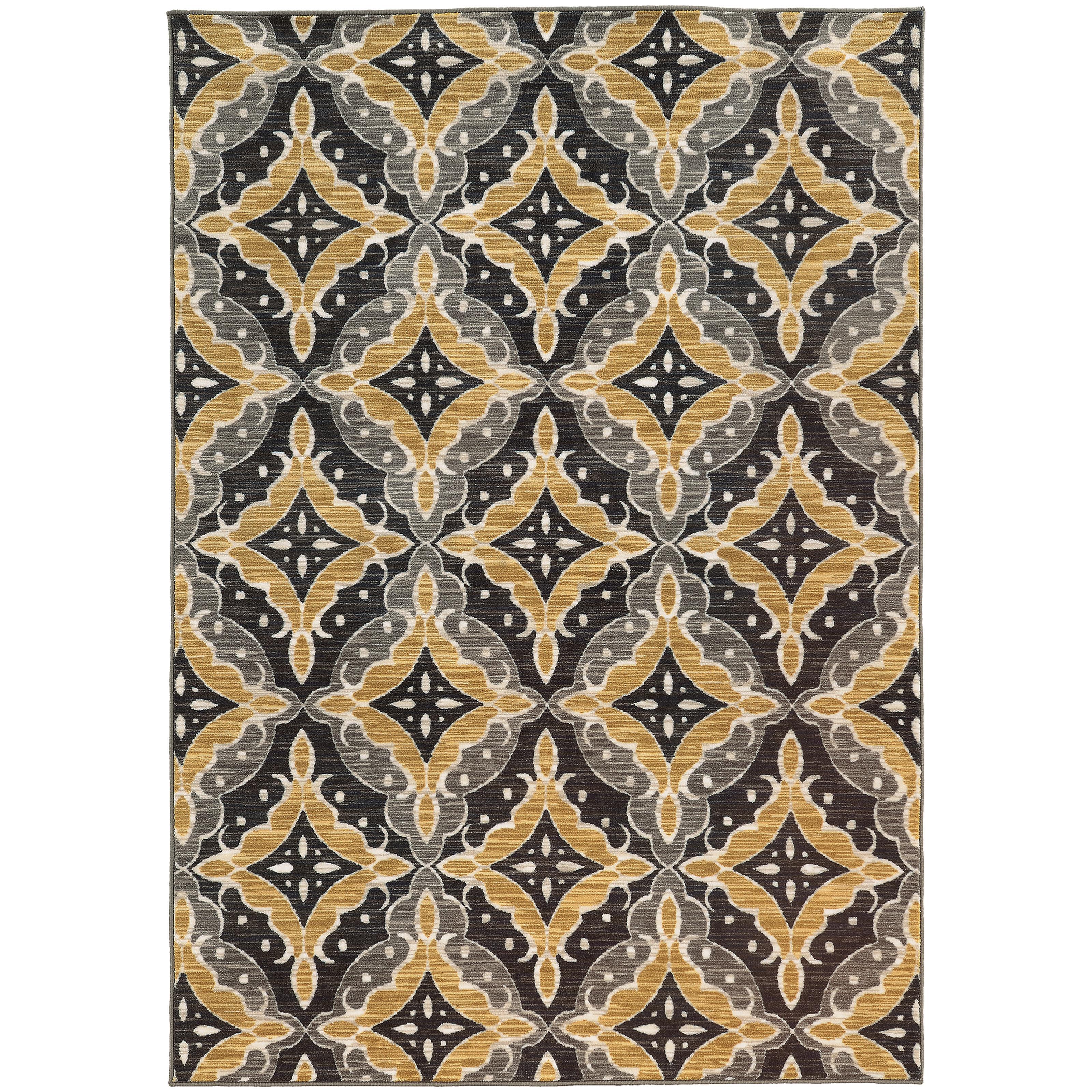 """Oriental Weavers Harper 3' 3"""" X  5' 5"""" Rug - Item Number: H46181100165ST"""