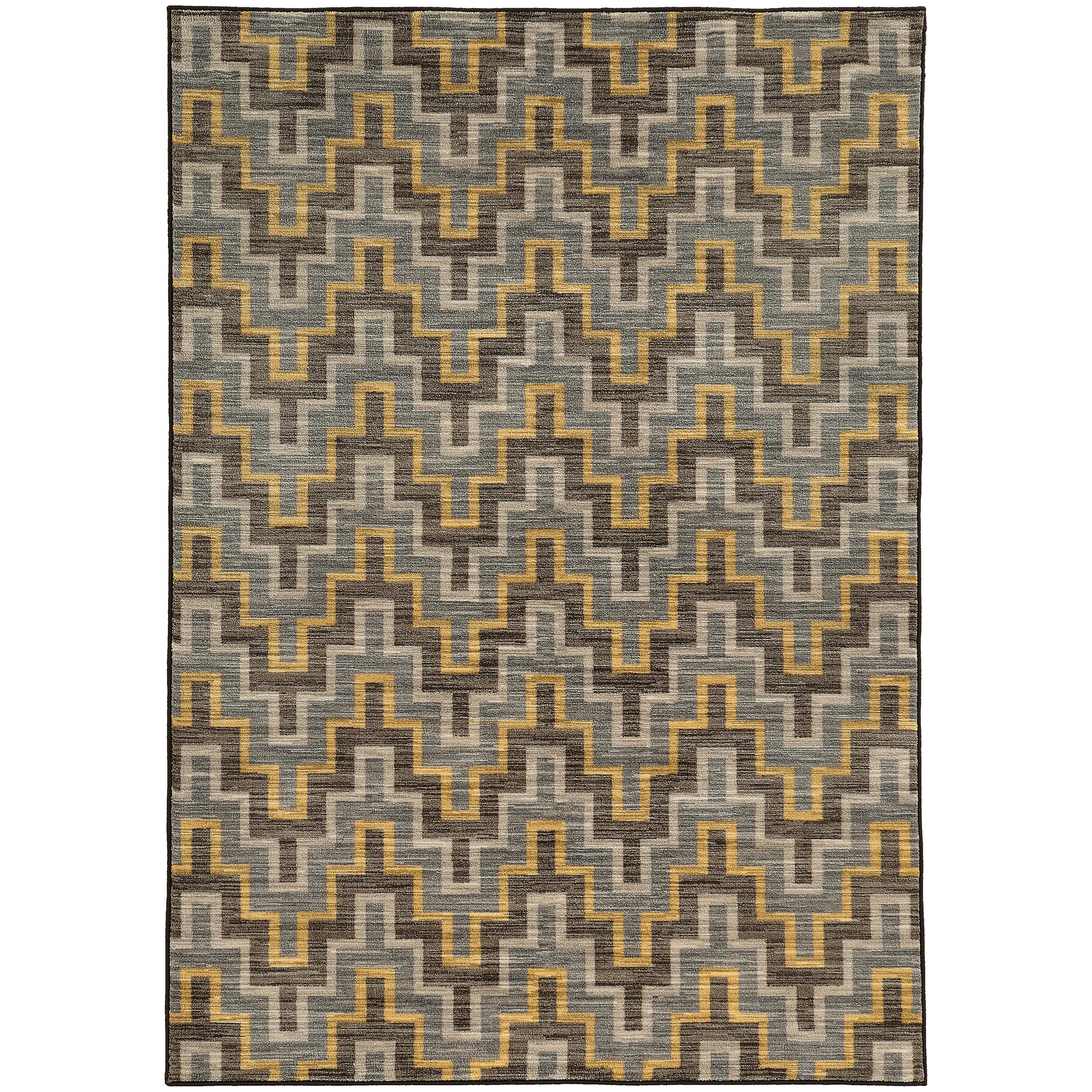 """Oriental Weavers Harper 5' 3"""" X  7' 6"""" Rug - Item Number: H46248160230ST"""