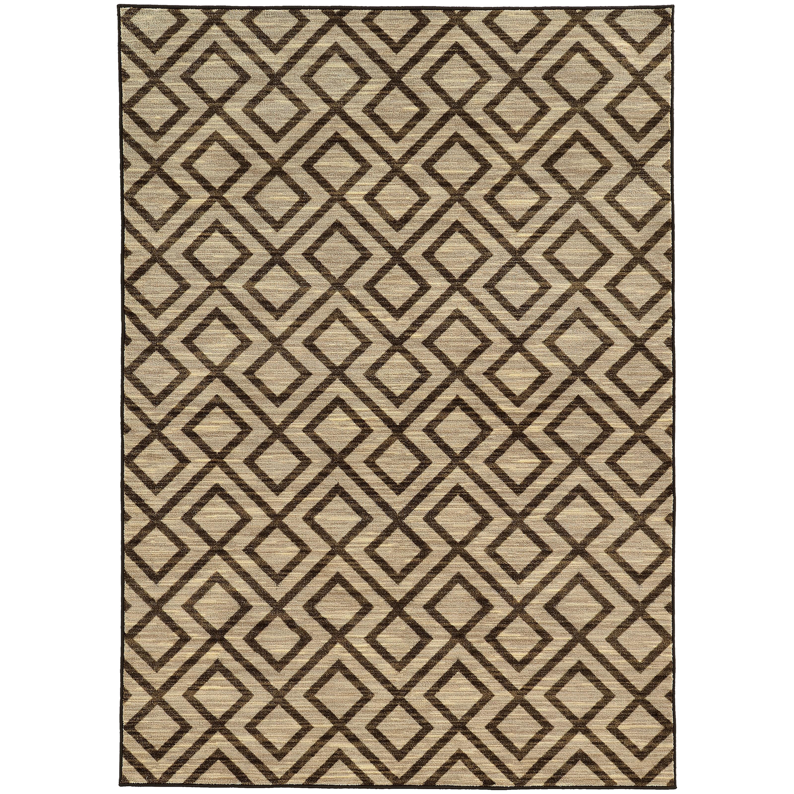 """Oriental Weavers Harper 3' 3"""" X  5' 5"""" Rug - Item Number: H68284100165ST"""