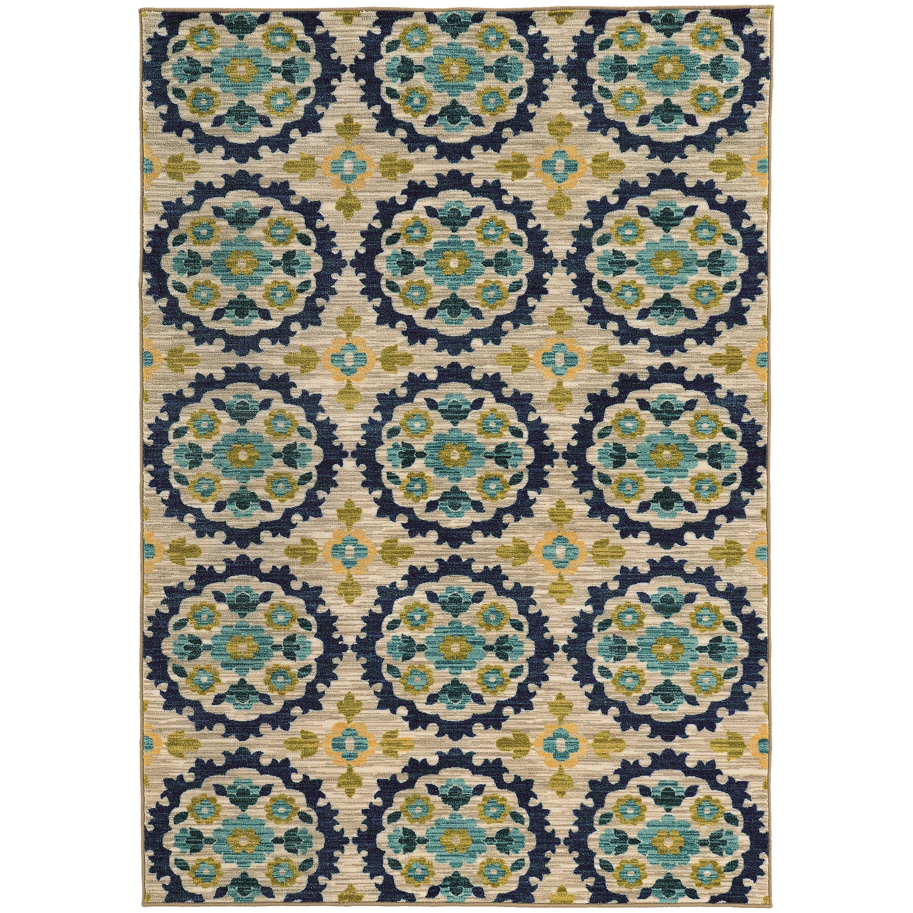 """Oriental Weavers Harper 7'10"""" X 10'10"""" Rug - Item Number: H70373240330ST"""