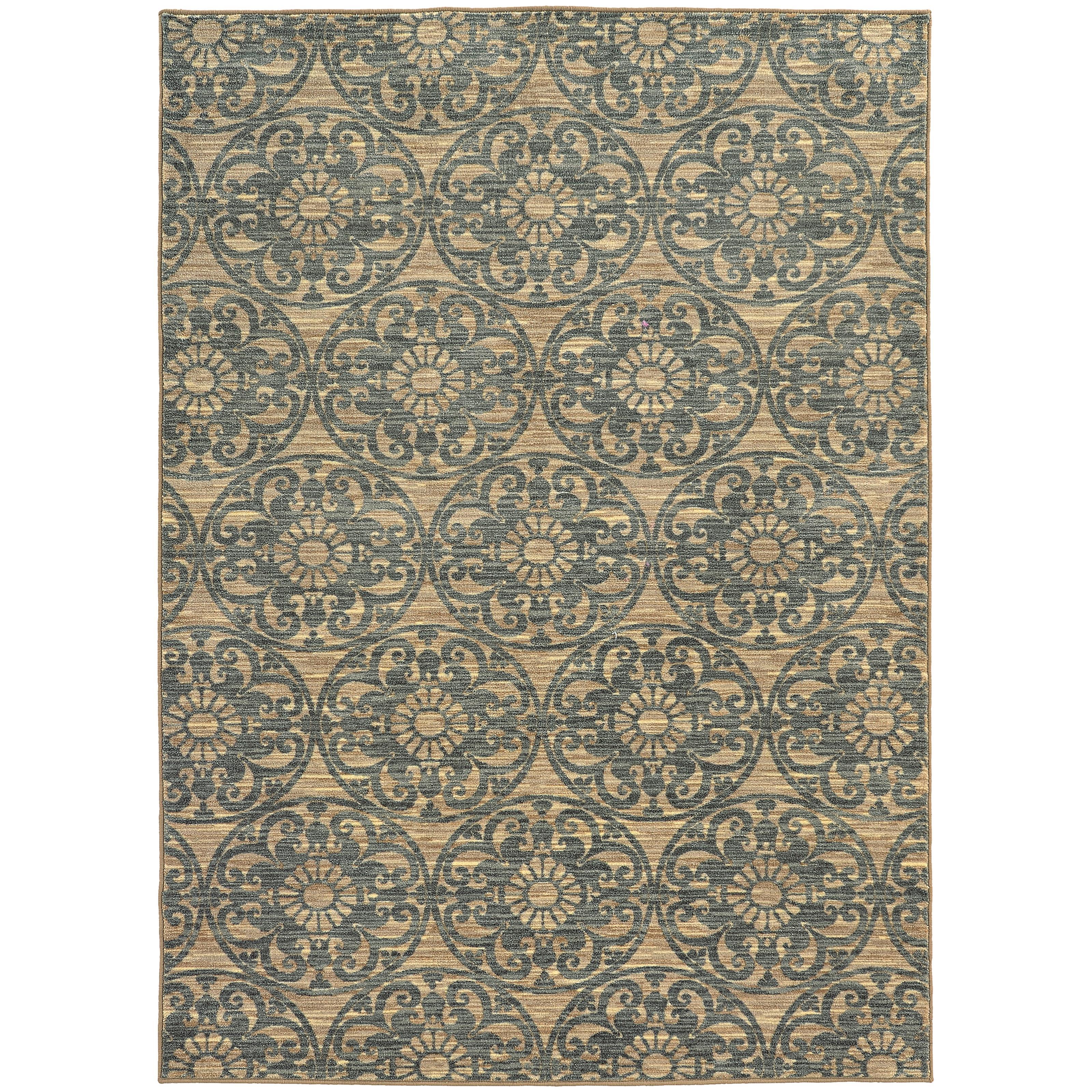 """Oriental Weavers Harper 7'10"""" X 10'10"""" Rug - Item Number: H79192240330ST"""