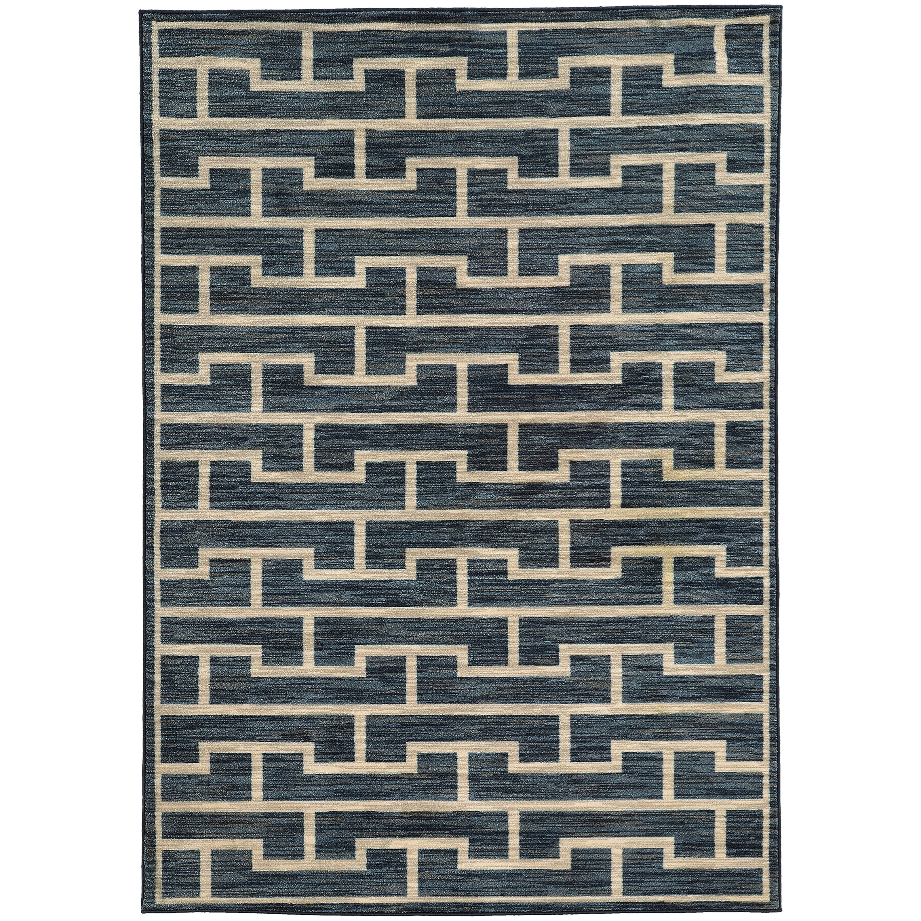 "Oriental Weavers Harper 5' 3"" X  7' 6"" Rectangle Area Rug - Item Number: HAR4617753X76"