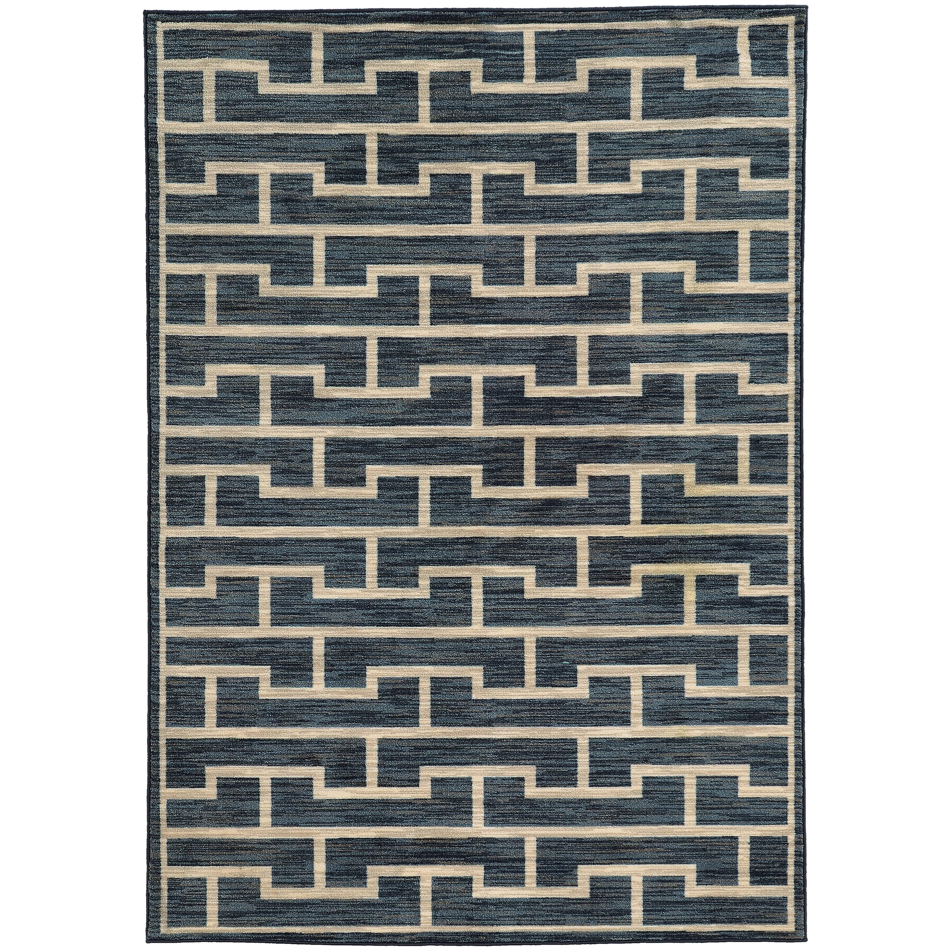 "Oriental Weavers Harper 7'10"" X 10'10"" Rectangle Area Rug - Item Number: HAR46177710X1010"