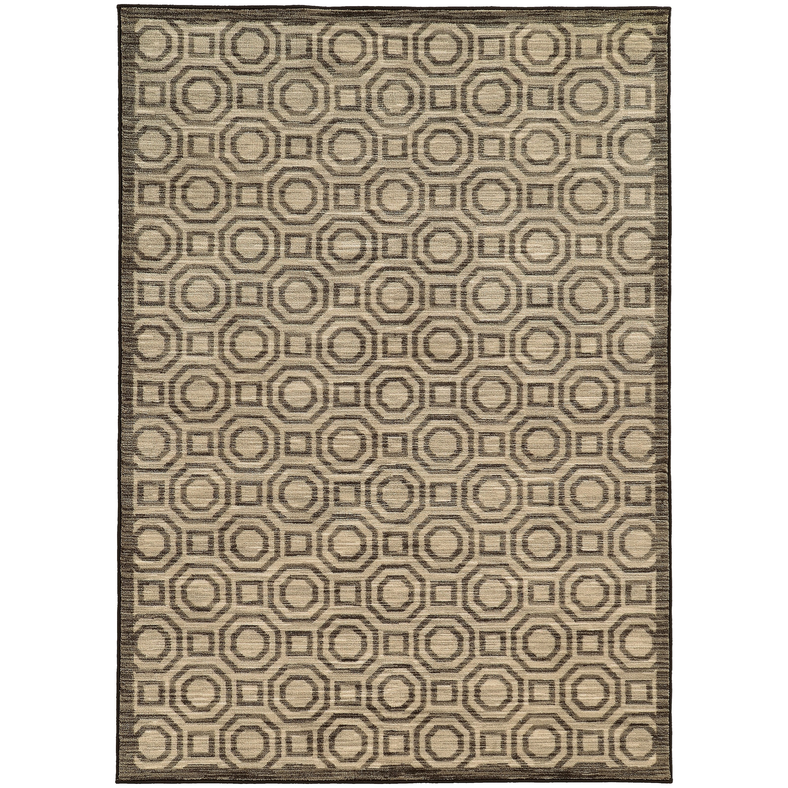"Oriental Weavers Harper 3' 3"" X  5' 5"" Rectangle Area Rug - Item Number: HAR4622833X55"