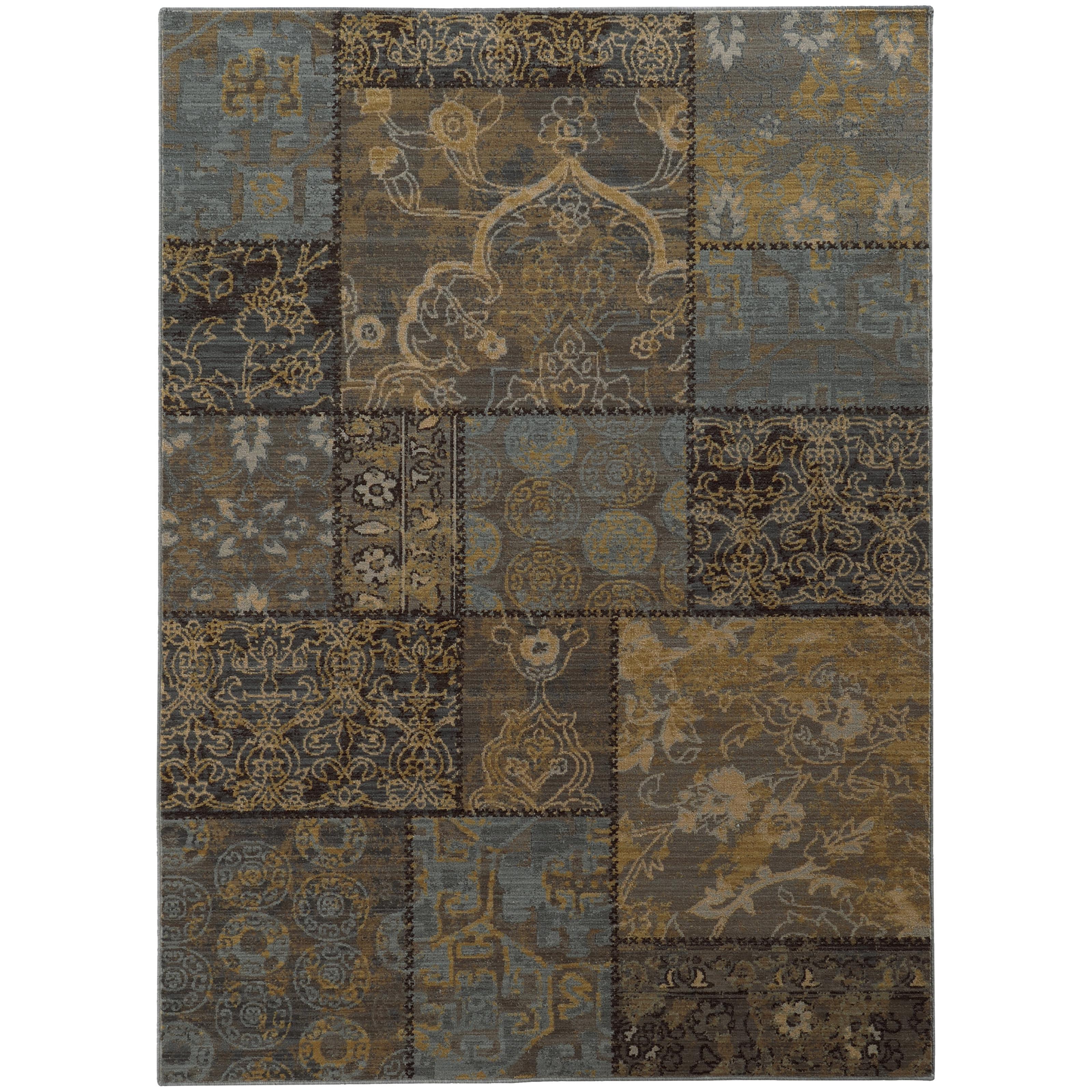 """Oriental Weavers Heritage 3'10"""" X  5' 5"""" Rug - Item Number: H1336H117165ST"""