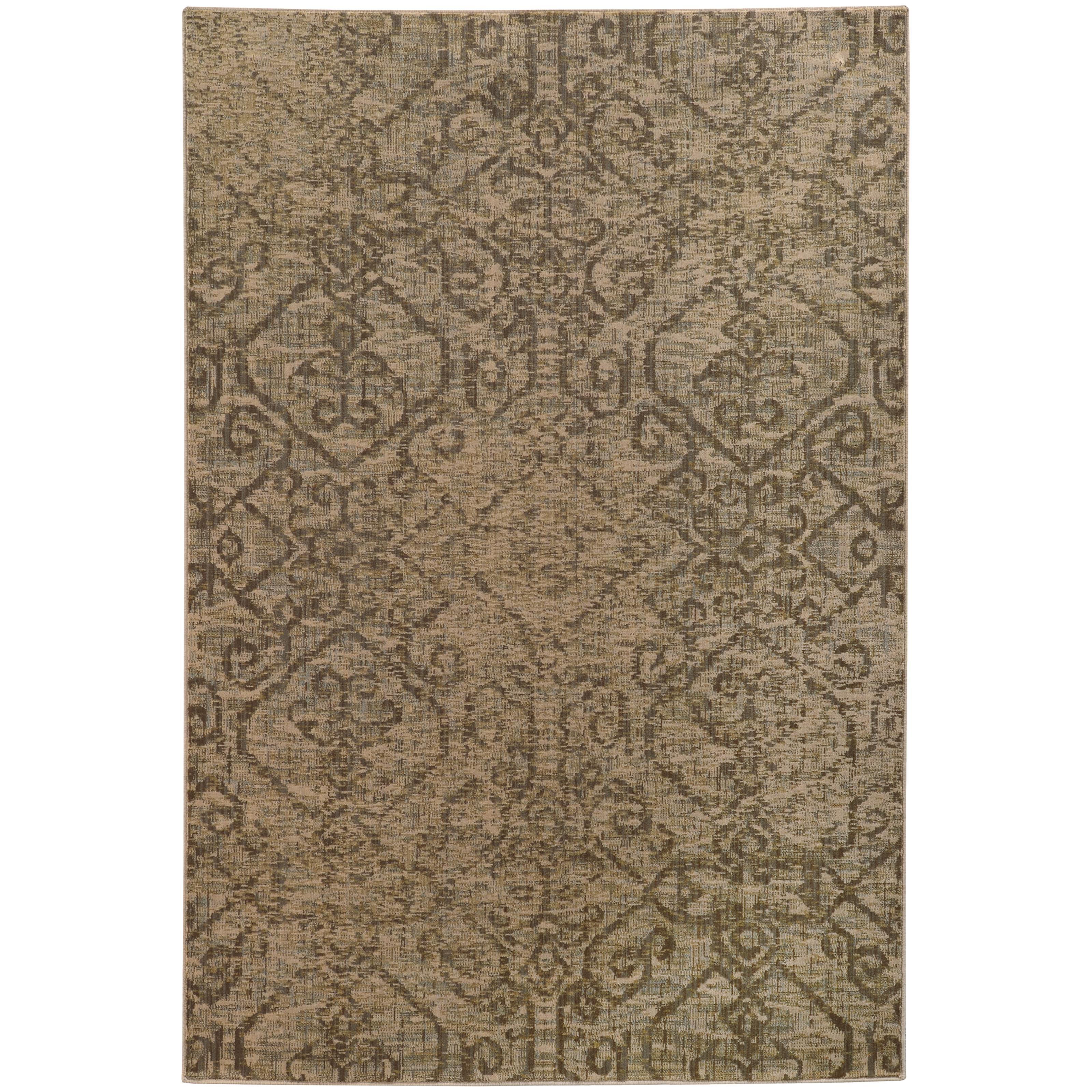 """Oriental Weavers Heritage 3'10"""" X  5' 5"""" Rug - Item Number: H2162J117165ST"""