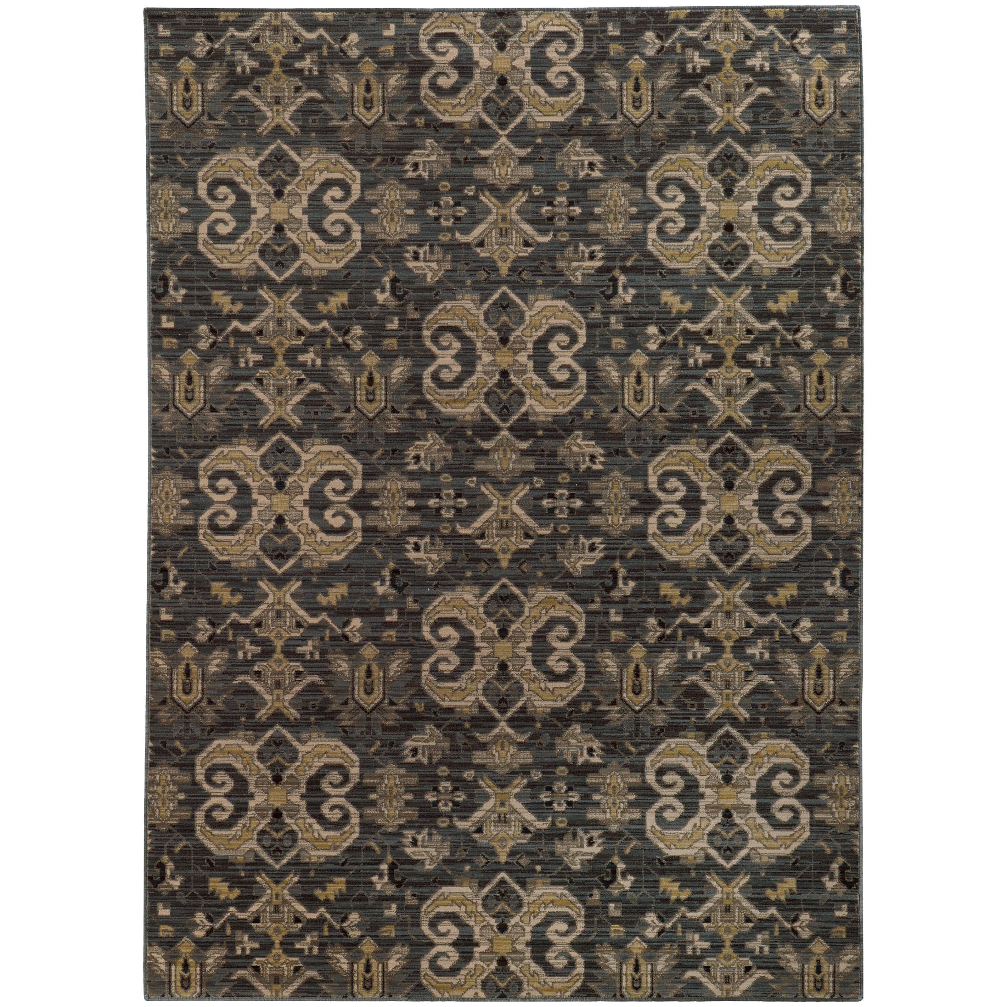 """Oriental Weavers Heritage 3'10"""" X  5' 5"""" Rug - Item Number: H2163D117165ST"""
